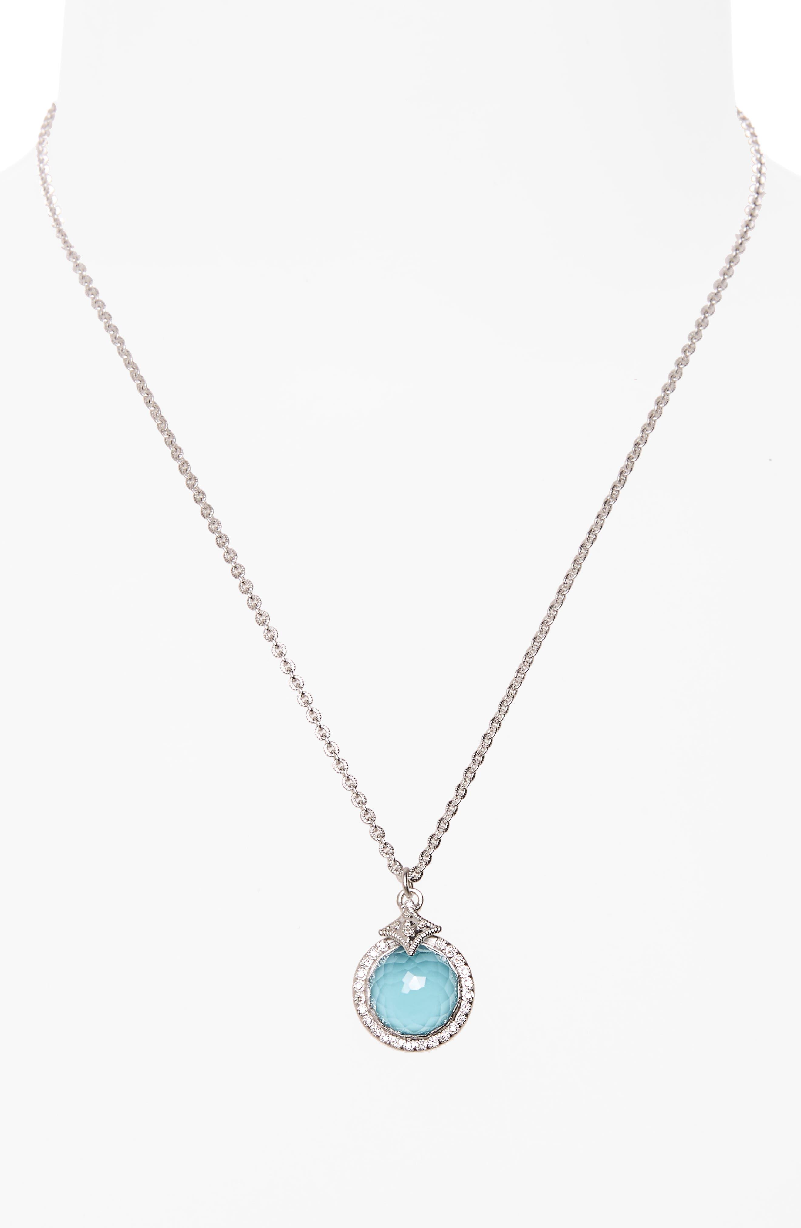 Alternate Image 2  - Armenta New World Turquoise Pendant Necklace