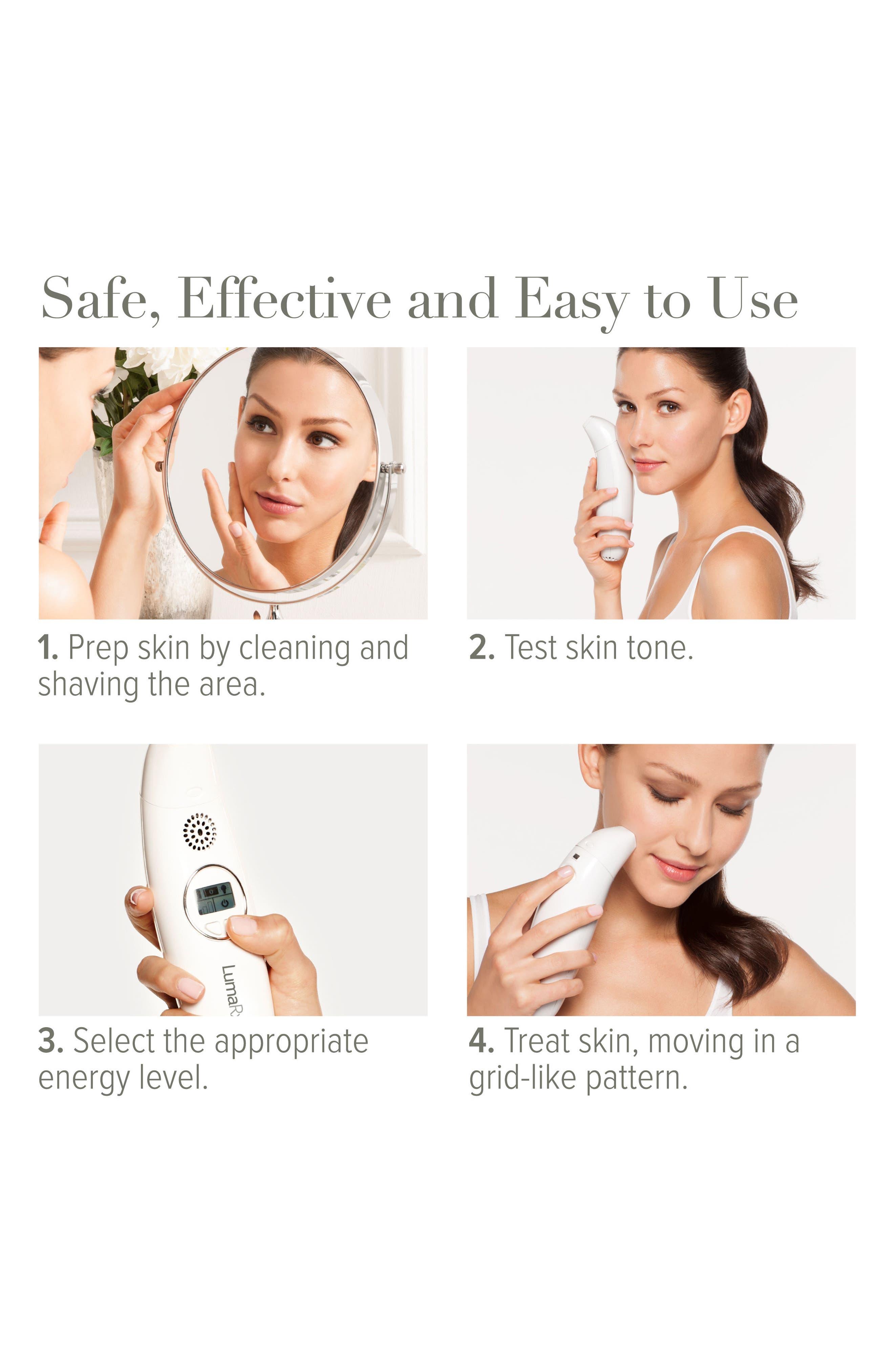 Alternate Image 7  - LumaRx Mini Hair Removal Device