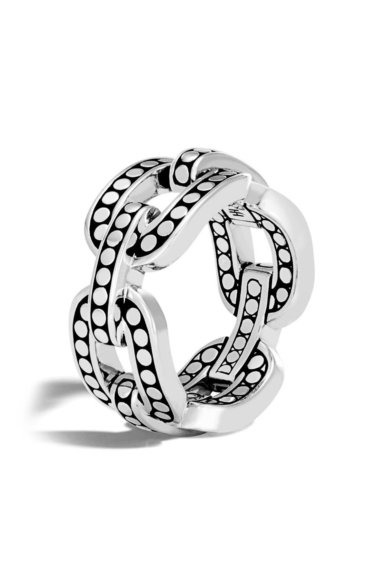John Hardy Dot Band Ring