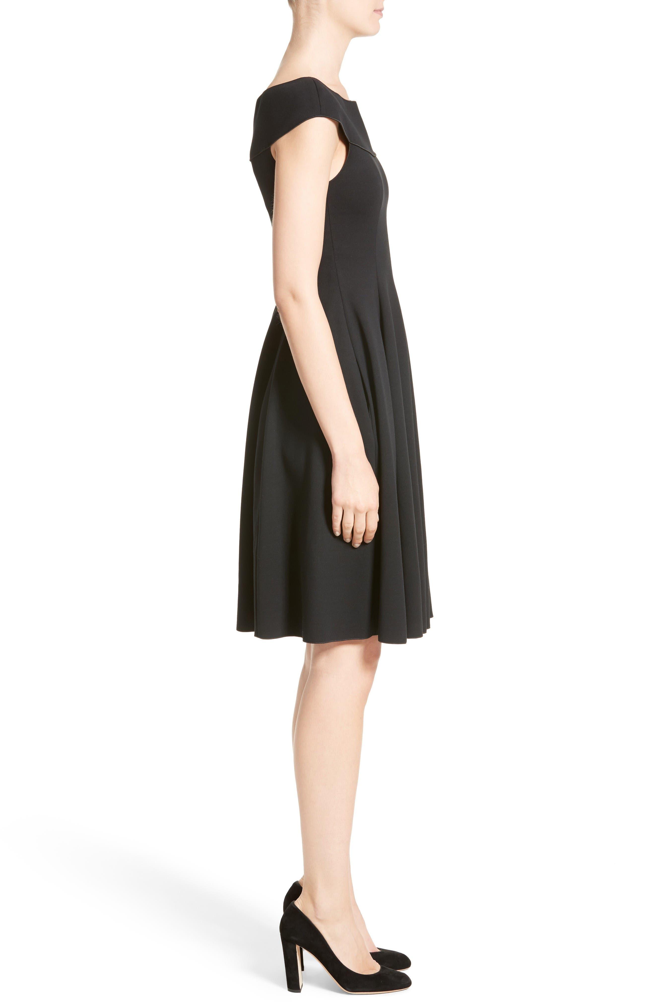 Alternate Image 5  - Armani Collezioni Off the Shoulder Fit & Flare Dress