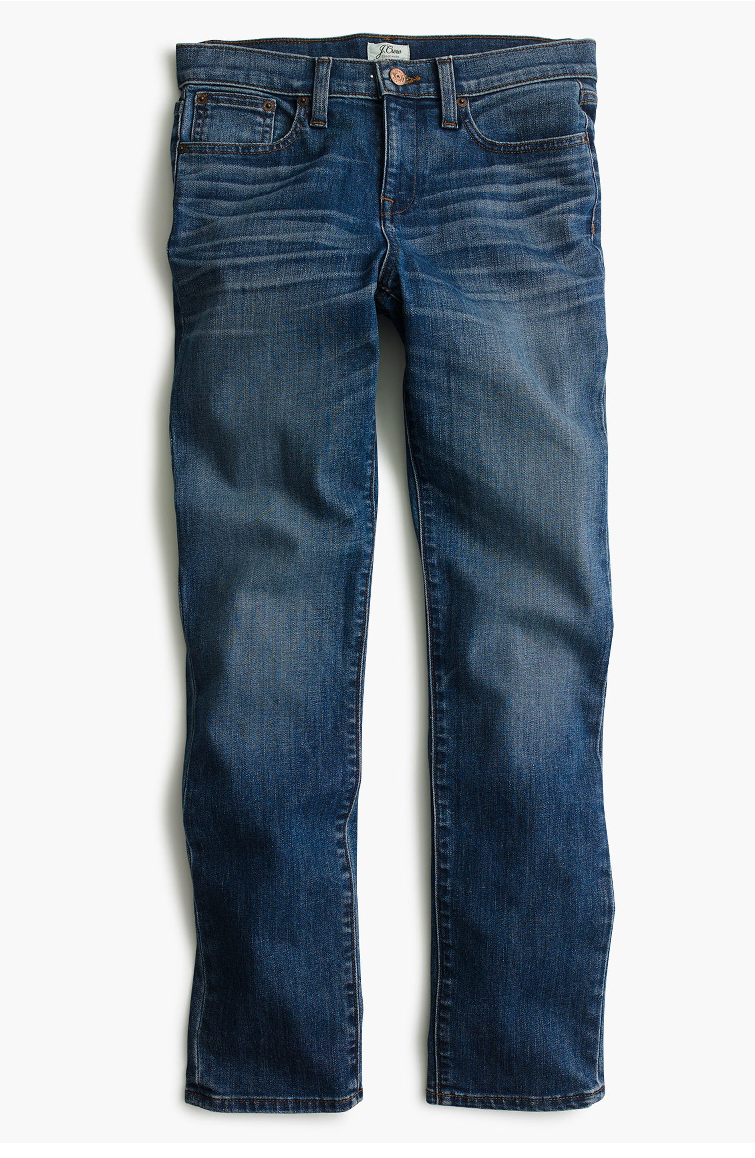 Alternate Image 2  - J.Crew Slim Boyfriend Jeans (Wakefield) (Regular & Petite)