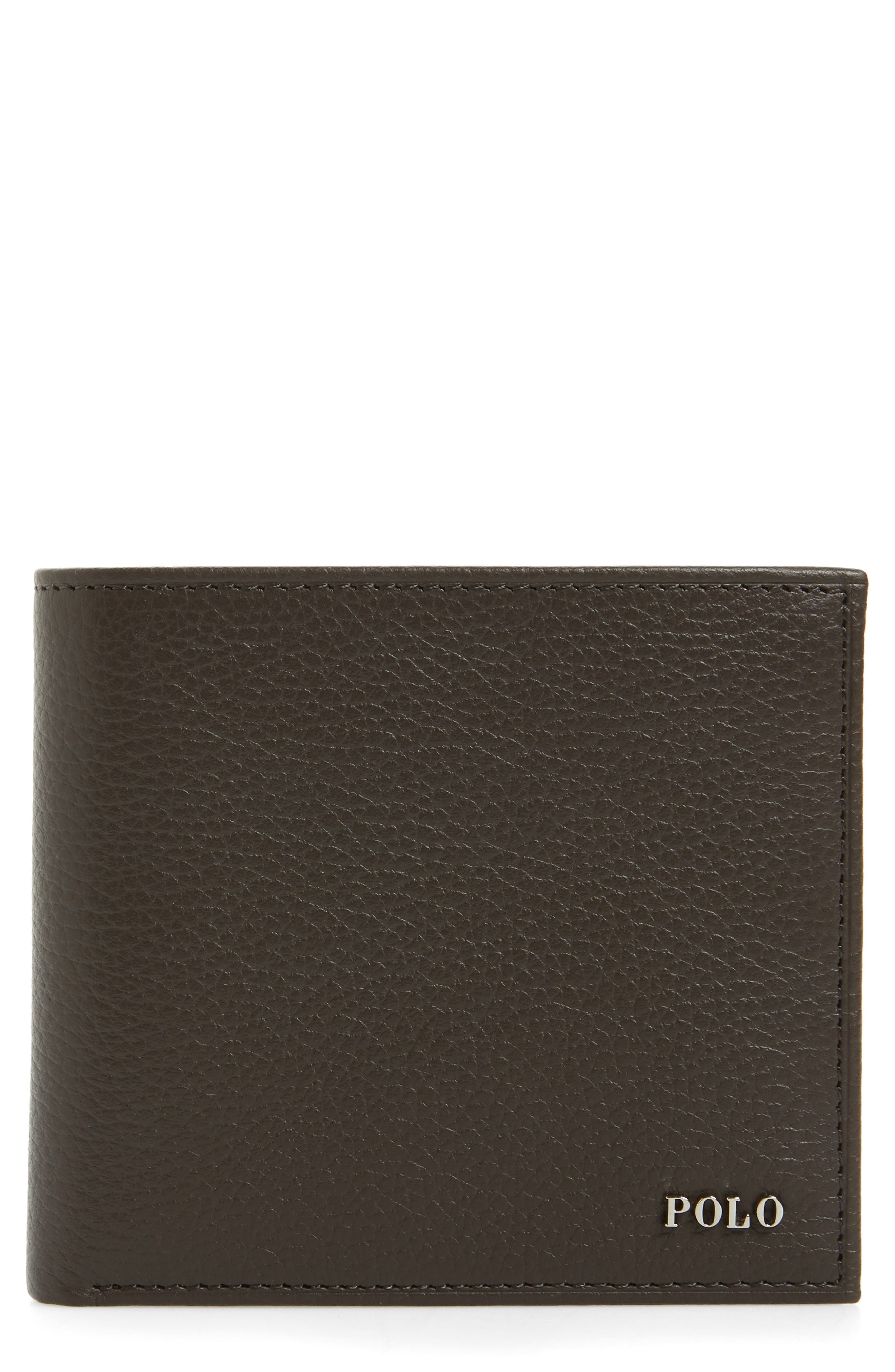 Alternate Image 1 Selected - Polo Ralph Lauren Leather Wallet