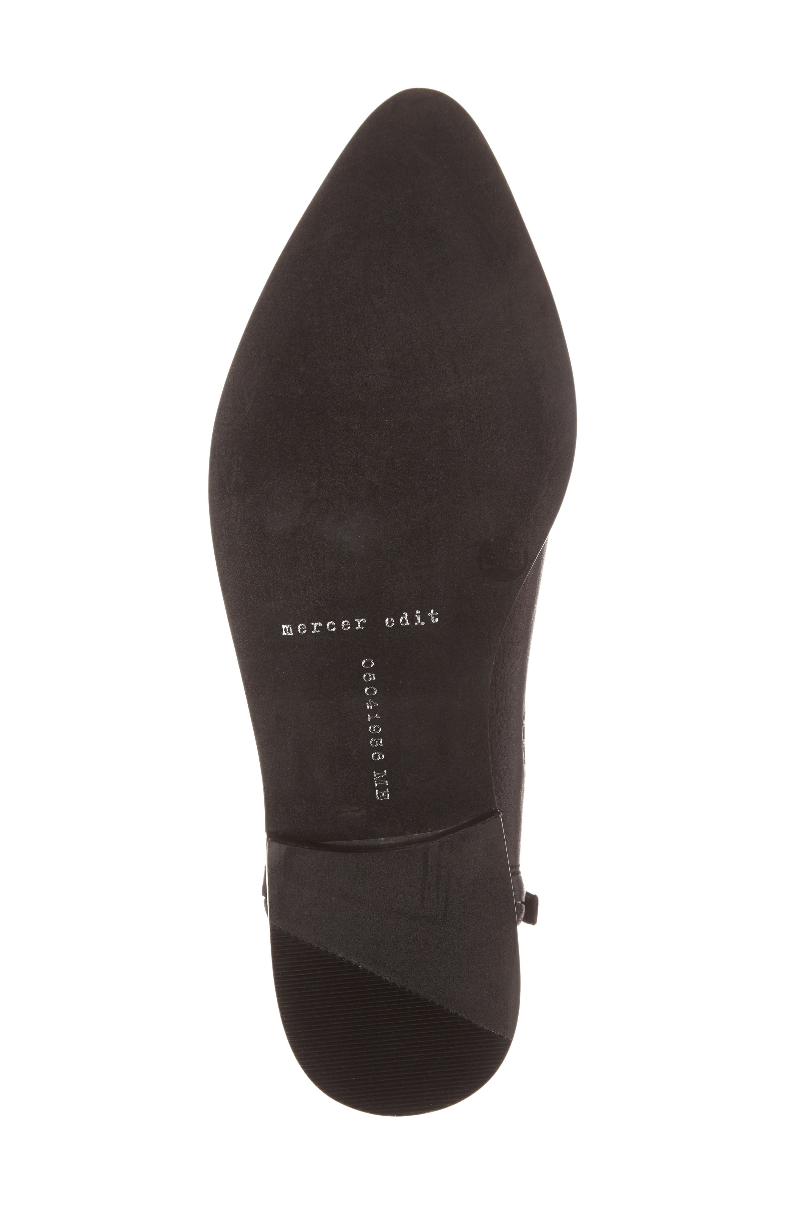 Callback2 Studded Bootie,                             Alternate thumbnail 4, color,                             Black Leather