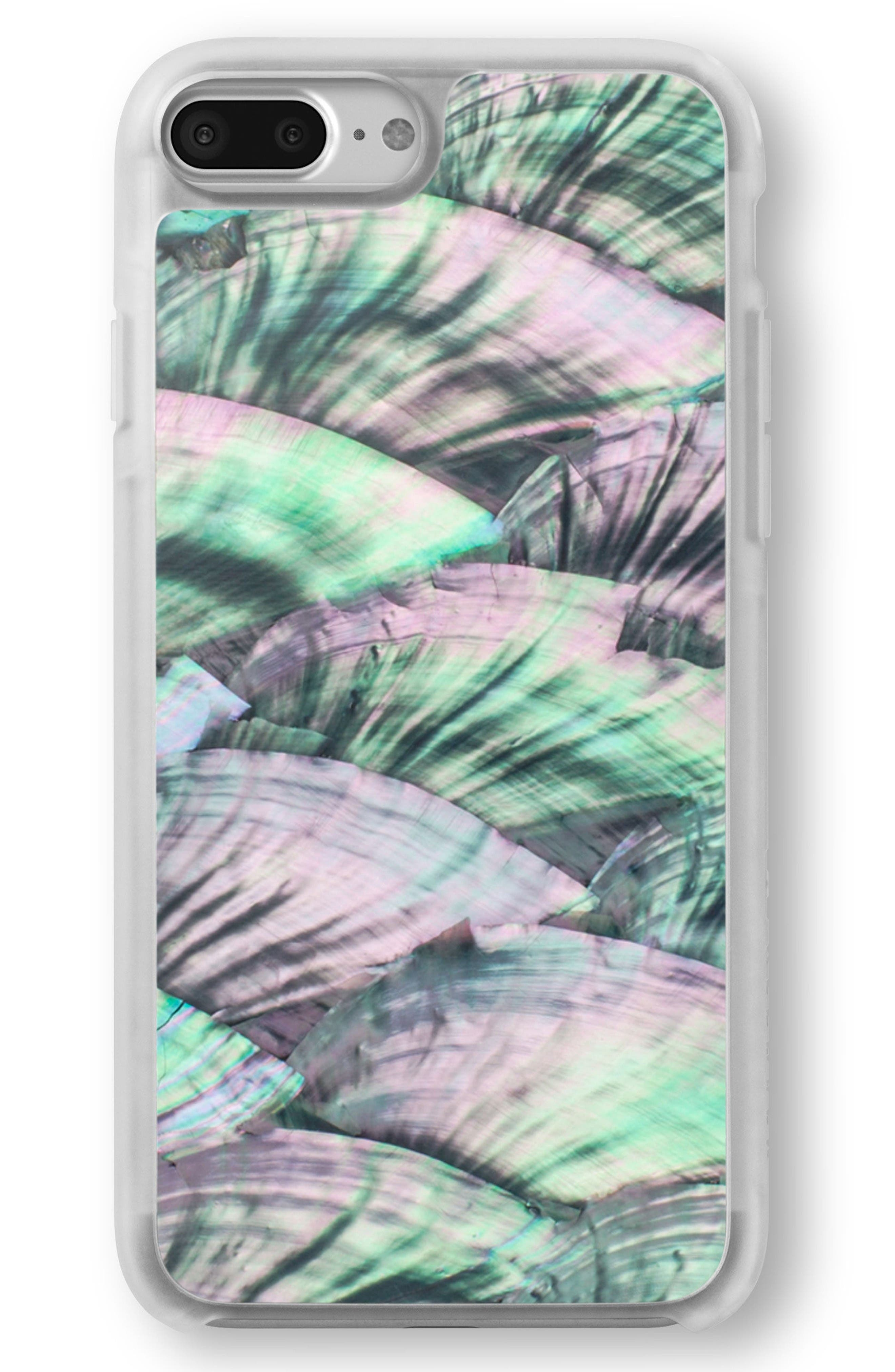 Recover Green Abalone iPhone 6/6s/7/8 & 6/6s/7/8 Plus Case
