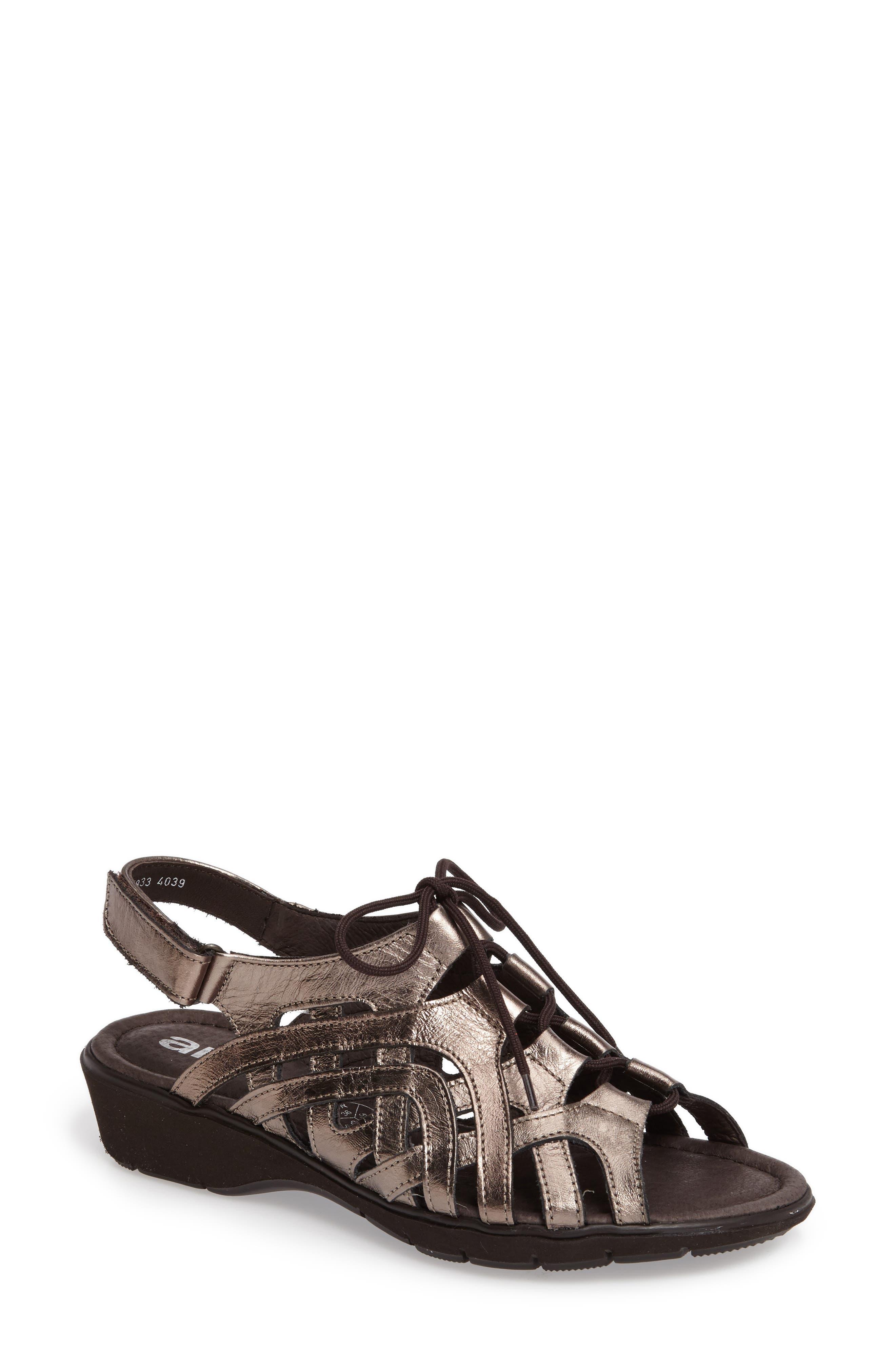 ara Liv Lace-Up Sandal (Women)