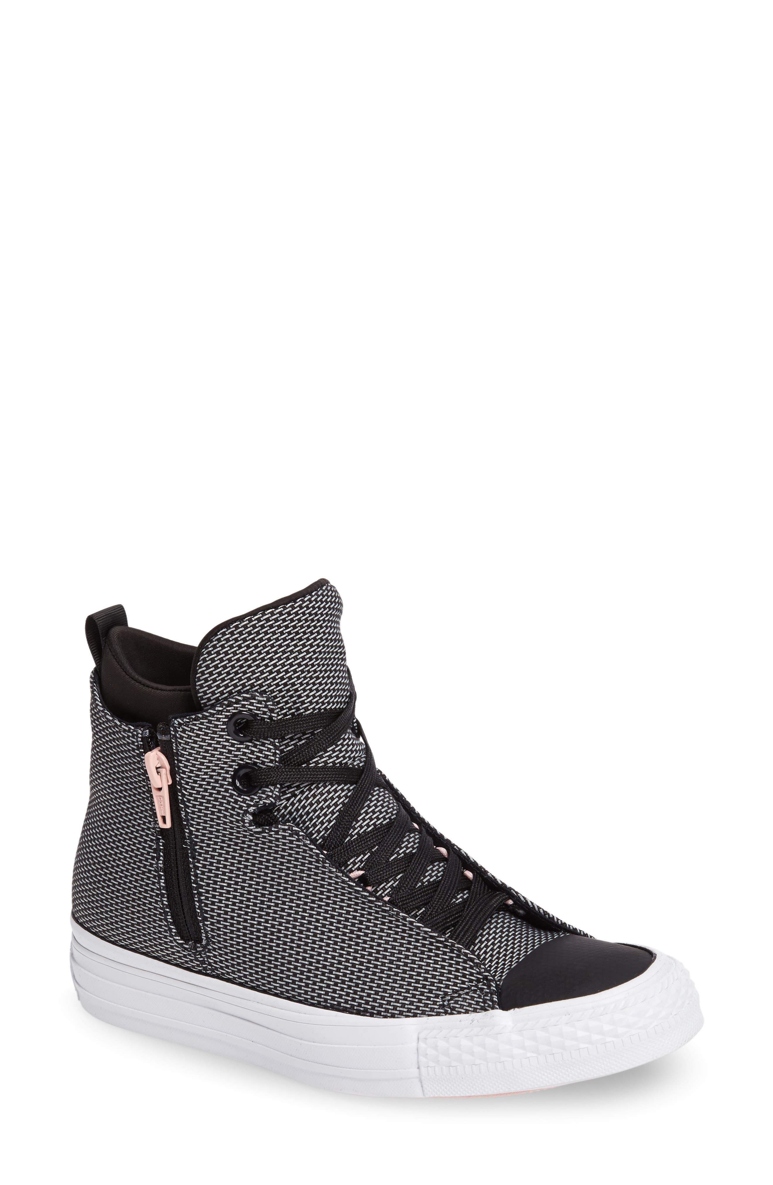 Alternate Image 1 Selected - Converse Chuck Taylor® All Star® Selene High Top Sneaker (Women)