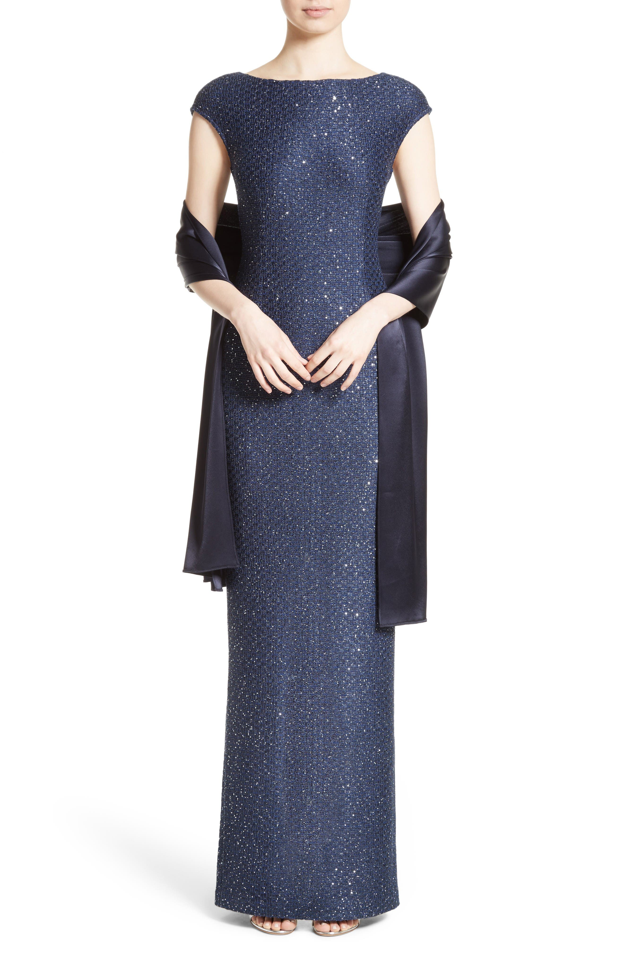 Alternate Image 6  - St. John Evening Sequin Gown