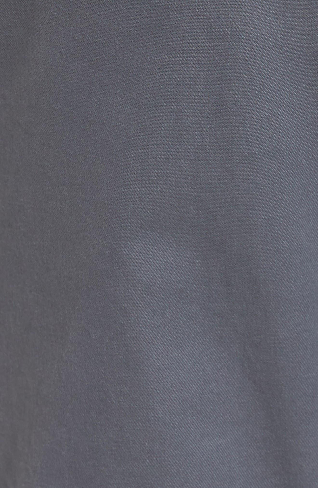 Salerno Stretch Woven Jogger Pants,                             Alternate thumbnail 5, color,                             Grey