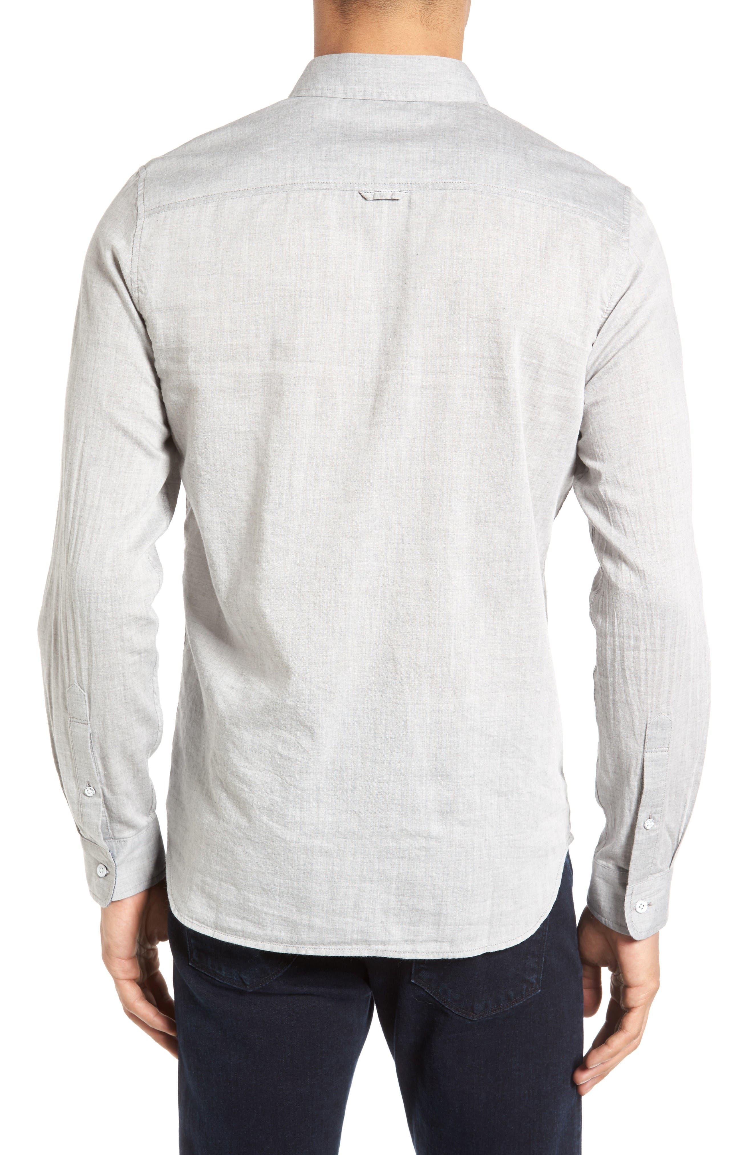 Alternate Image 2  - AG Grady Trim Fit Sport Shirt