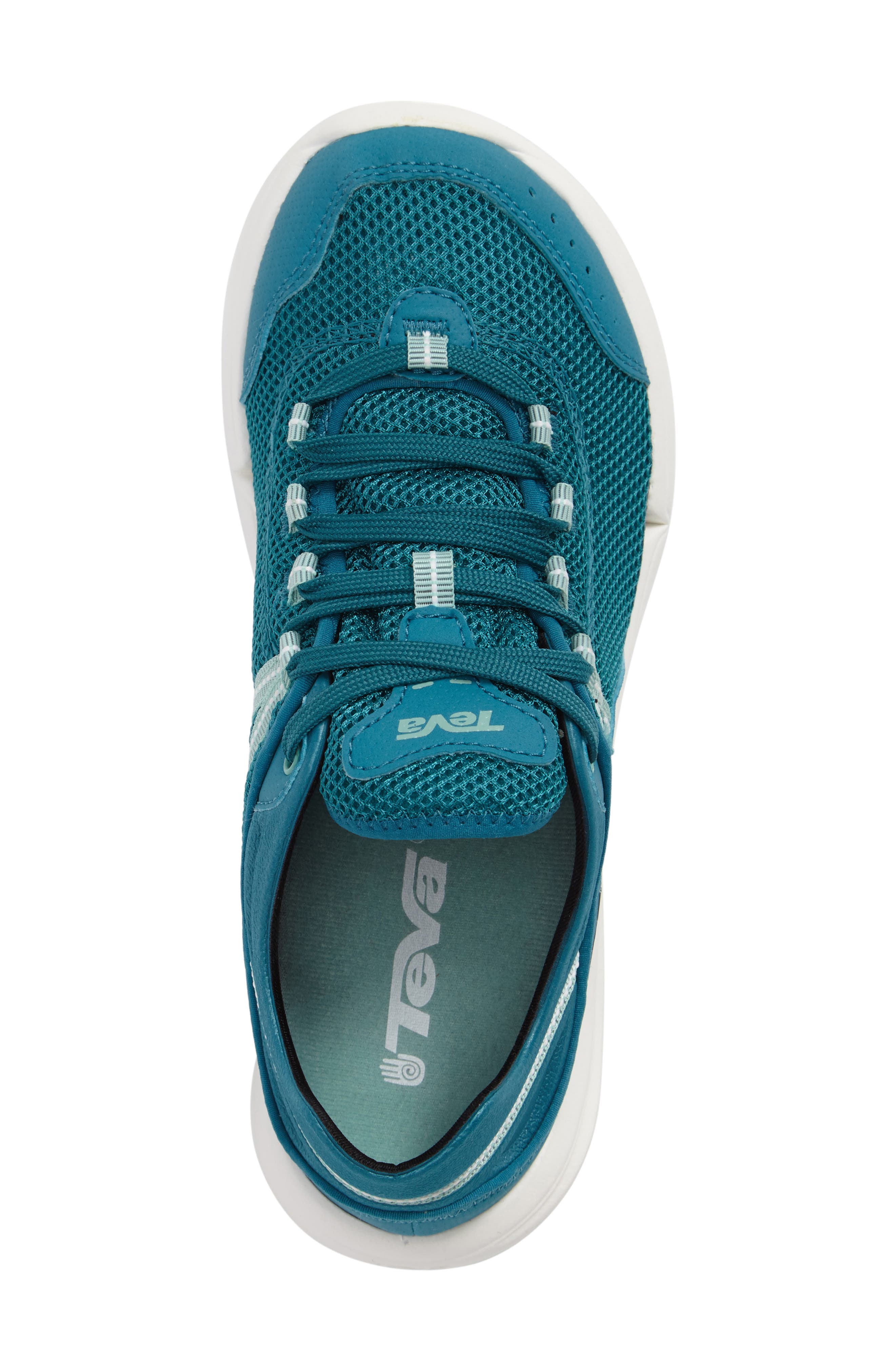 Evo Sneaker,                             Alternate thumbnail 3, color,                             Blue Fabric