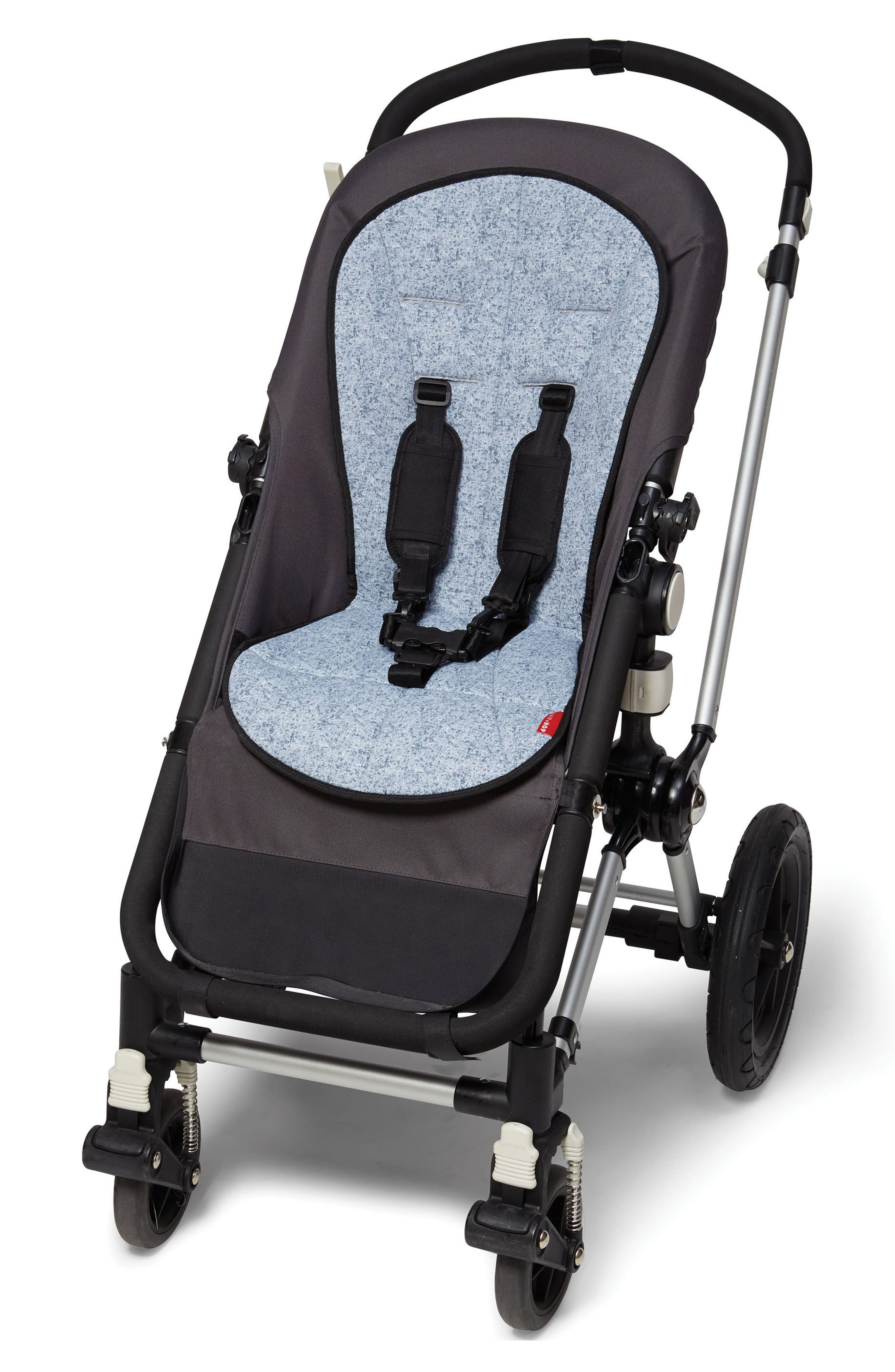Stroll & Go - Cool Touch Stroller Liner,                             Alternate thumbnail 3, color,                             Heather Grey