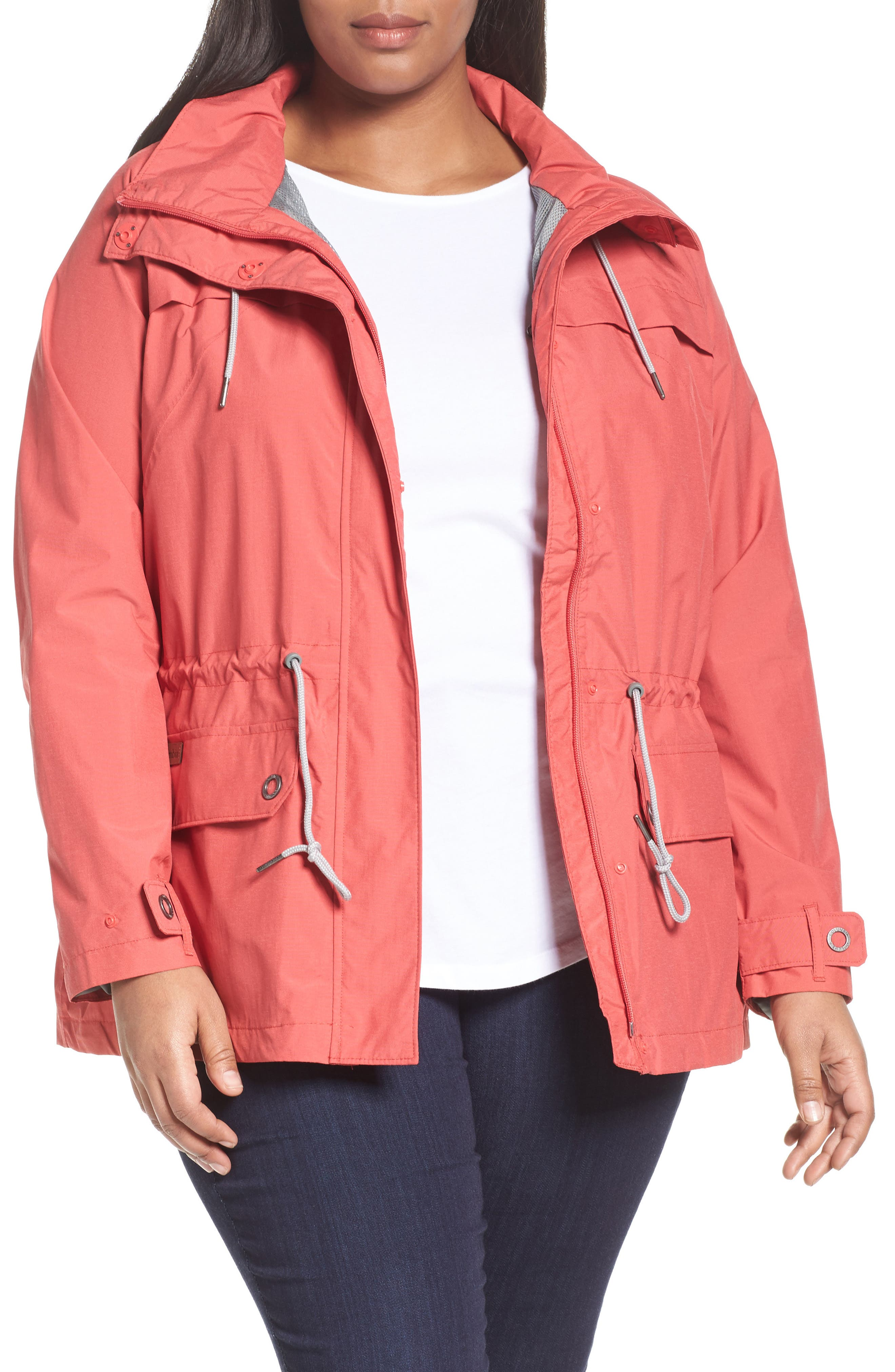 Columbia Remoteness Water Resistant Jacket (Plus Size)