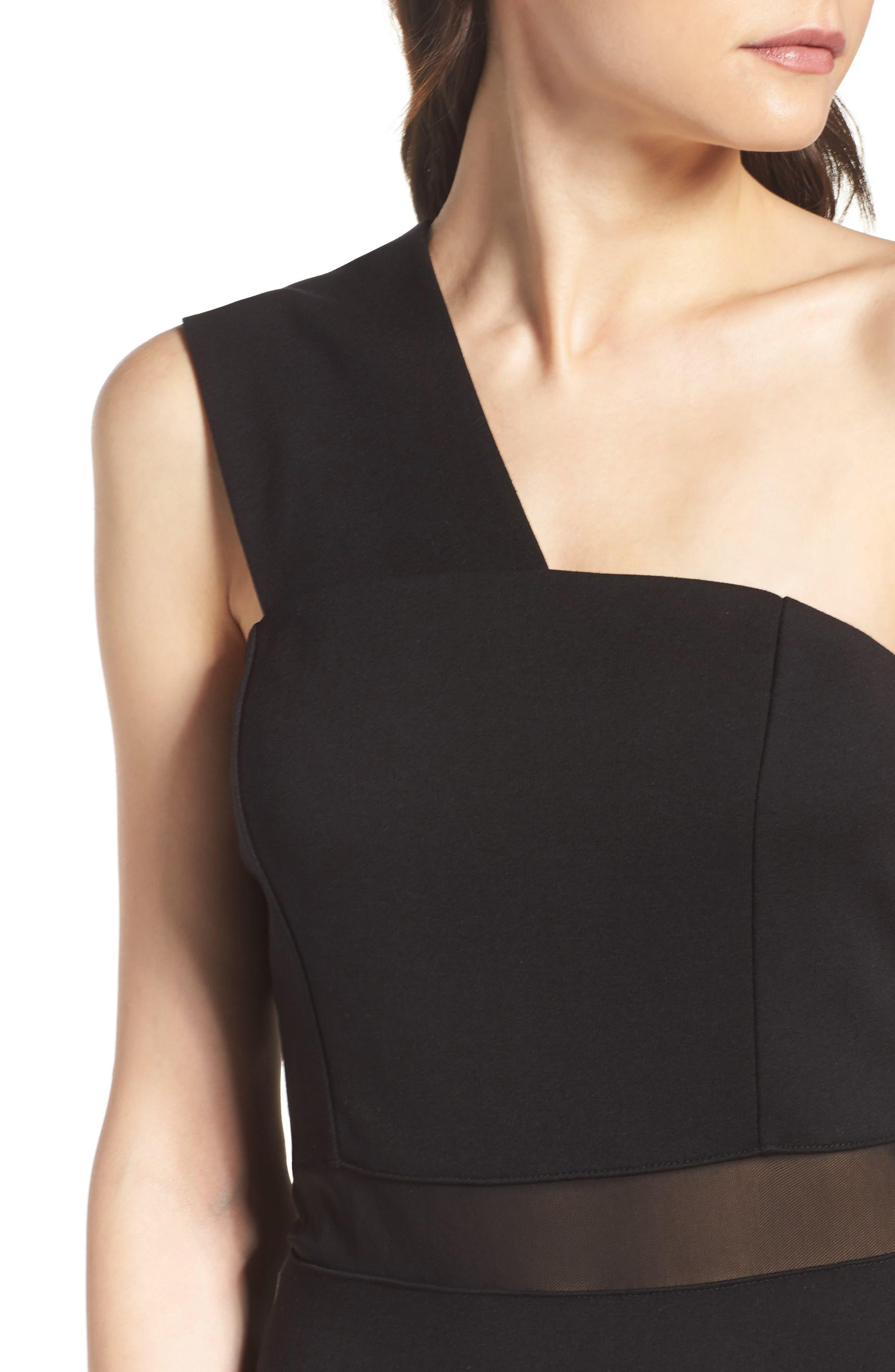 Alternate Image 5  - French Connection Fashion Week One-Shoulder Dress