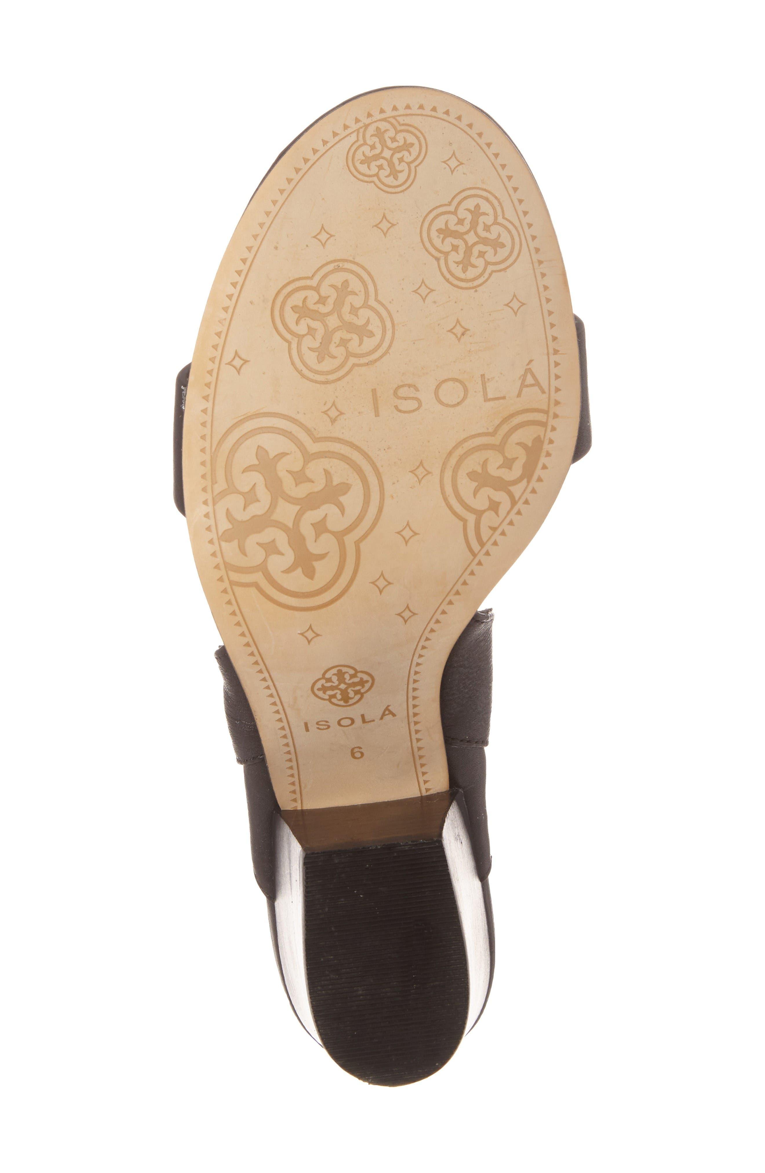 Alternate Image 4  - Isolá Lia Block Heel Sandal (Women)