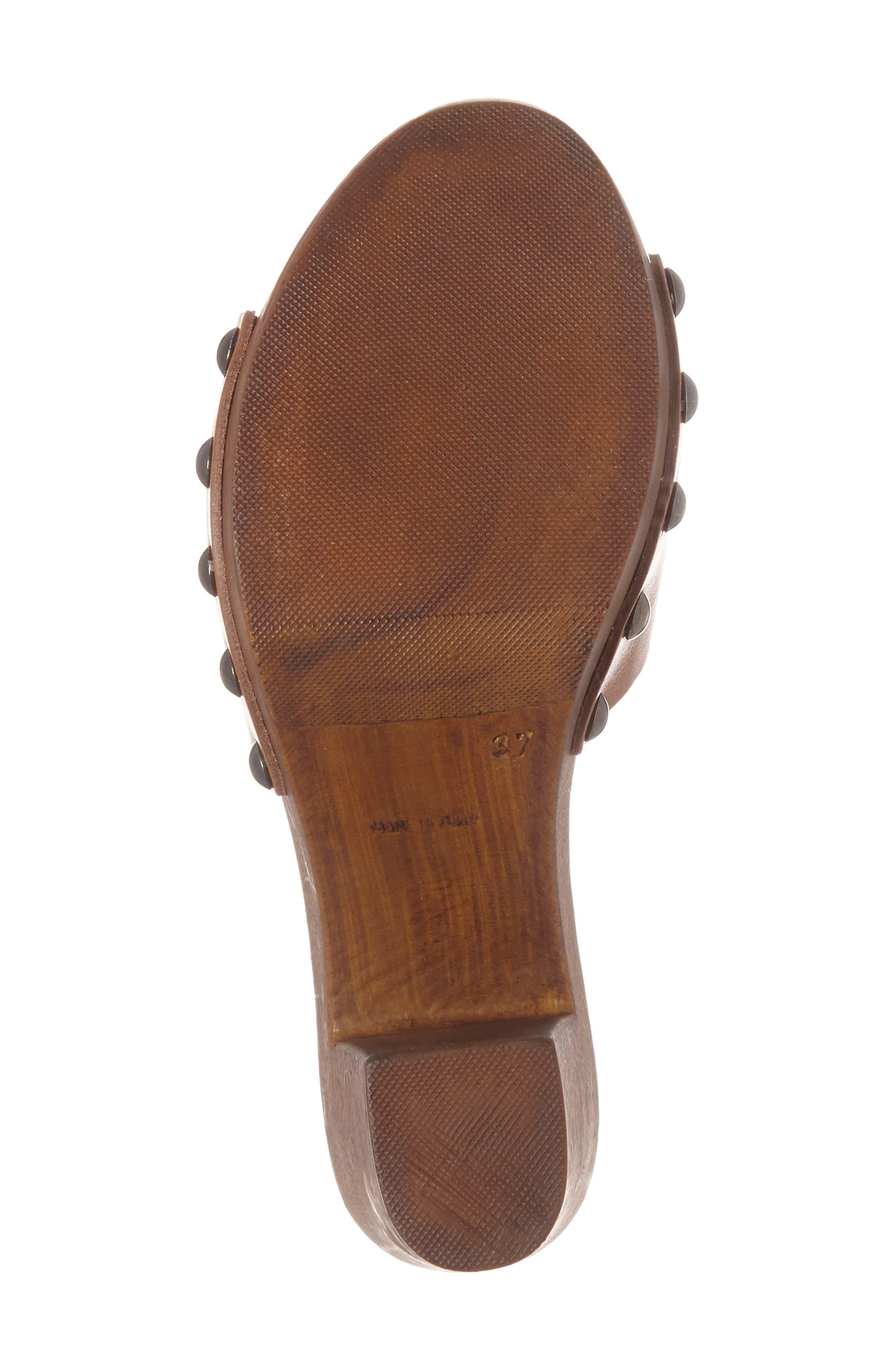 Unbridled Lennon Mule,                             Alternate thumbnail 4, color,                             Cognac Leather