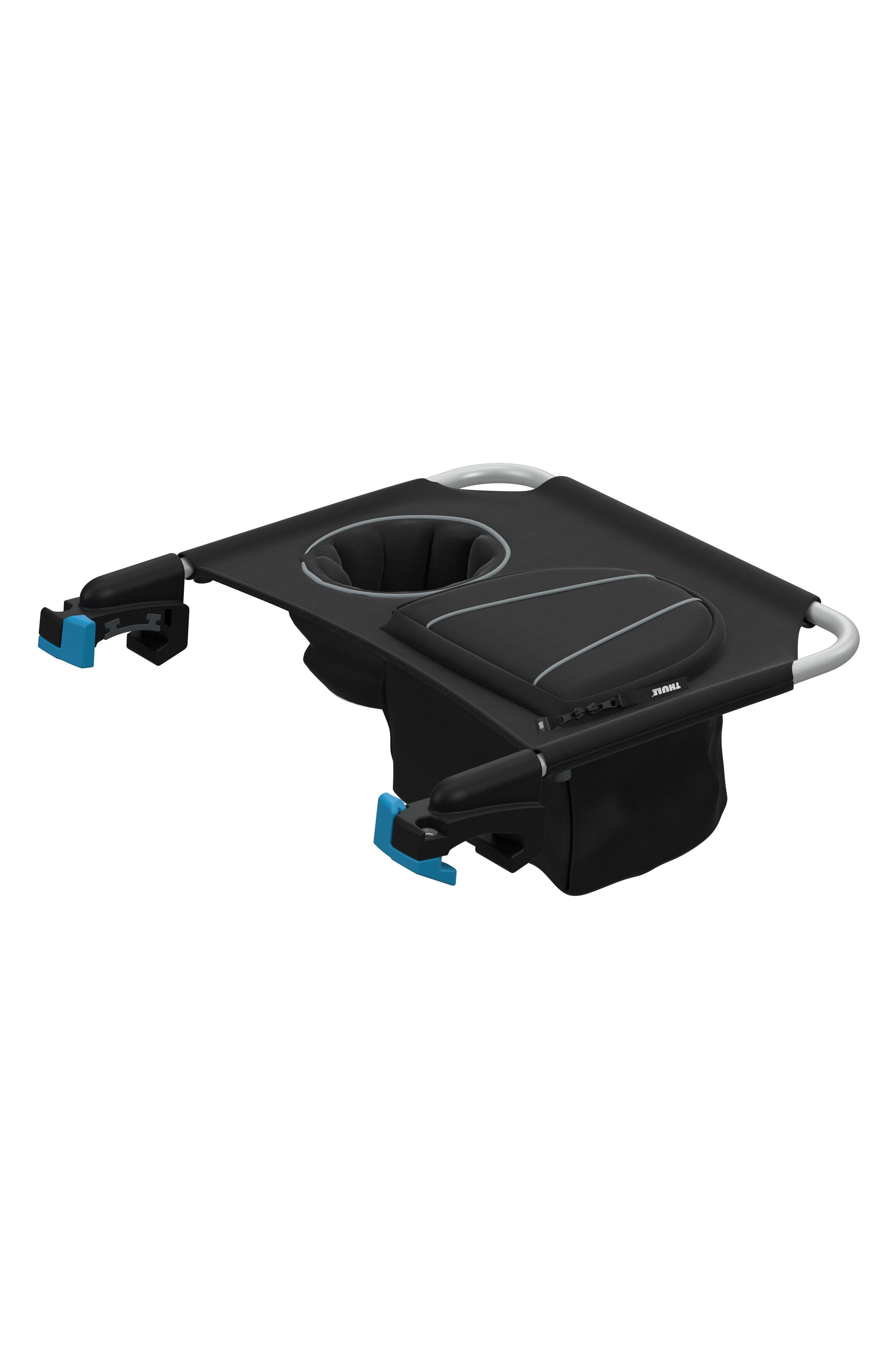 Cup Holder Console for Thule Single Strollers,                         Main,                         color, Black