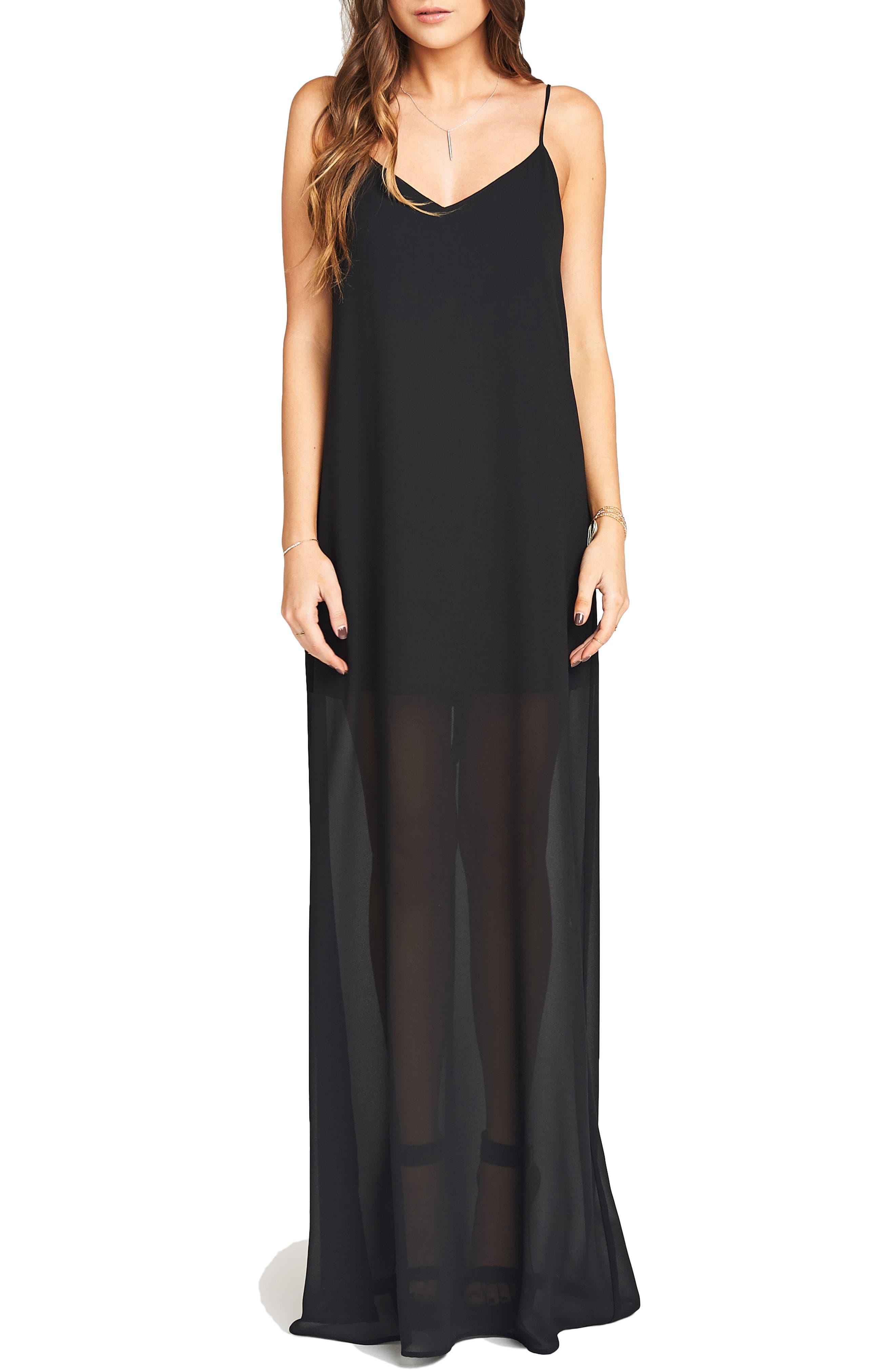 Jolie Gown,                         Main,                         color, Black