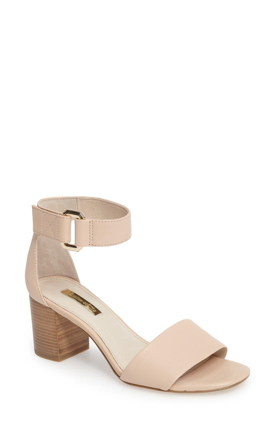 Alternate Image 1 Selected - Louise et Cie Kambria Block Heel Sandal (Women)