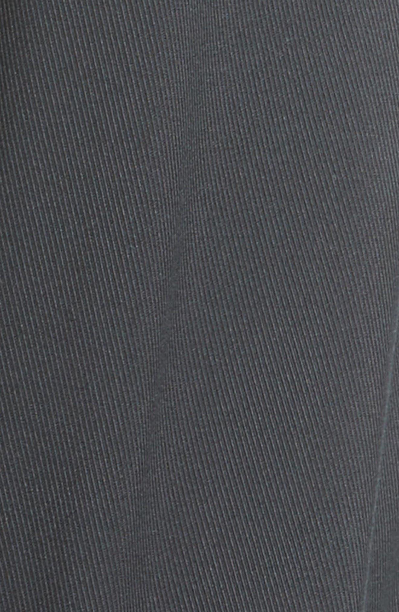 Cotton & Silk Biker Pants,                             Alternate thumbnail 5, color,                             Navy