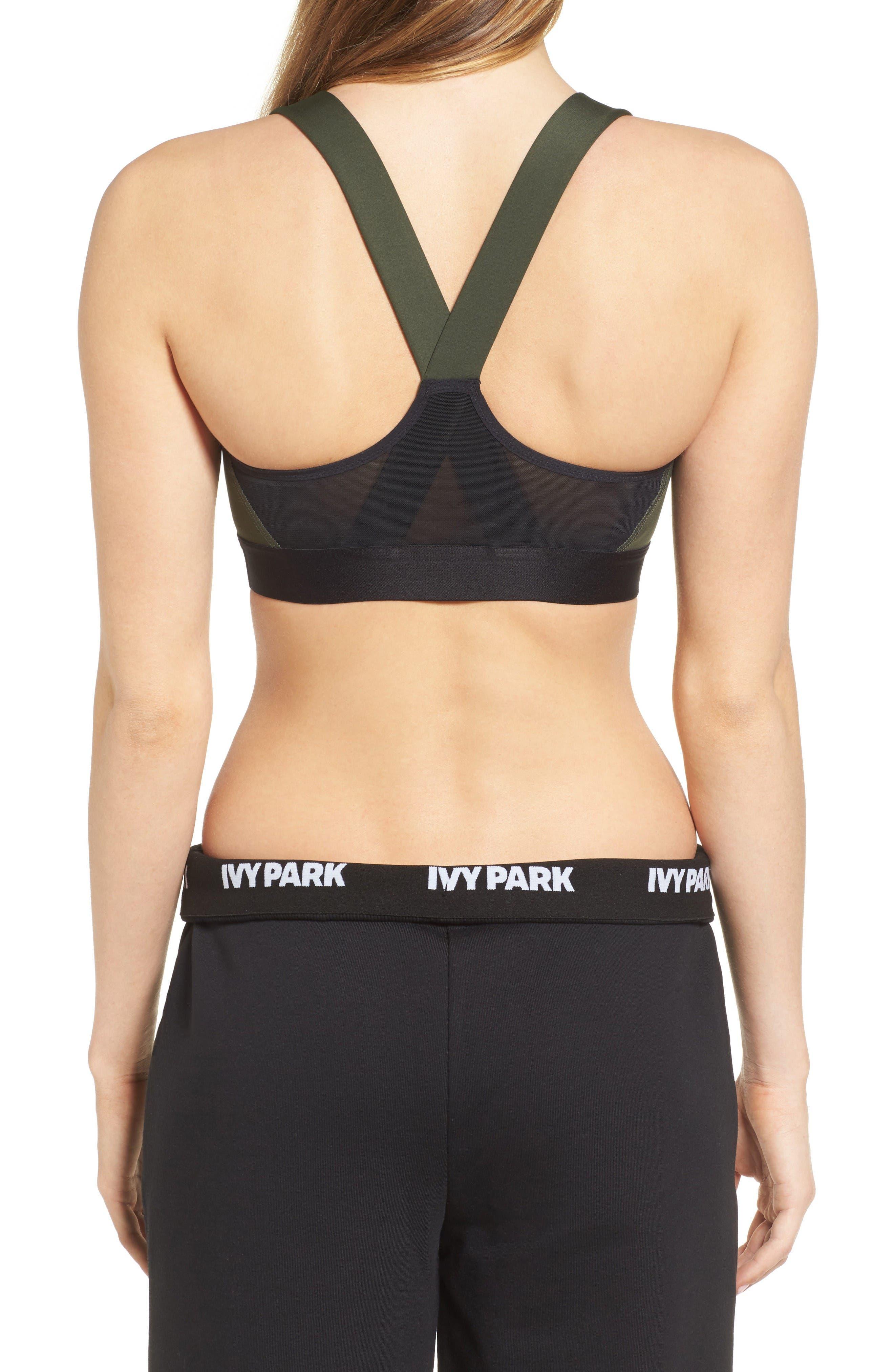 Alternate Image 2  - IVY PARK® Logo Mesh Sports Bra