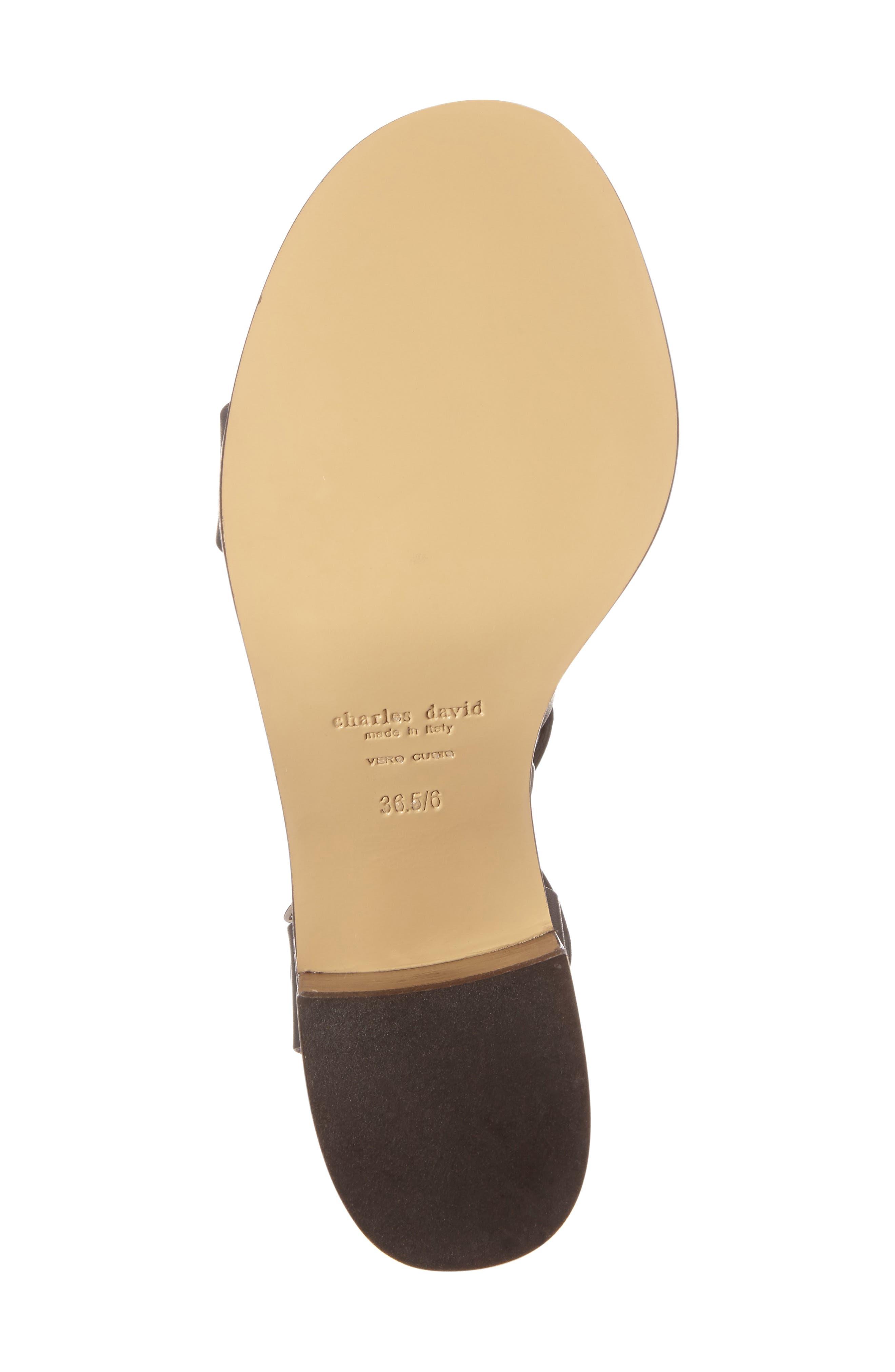 Alternate Image 4  - Charles David Bronson Block Heel Sandal (Women)