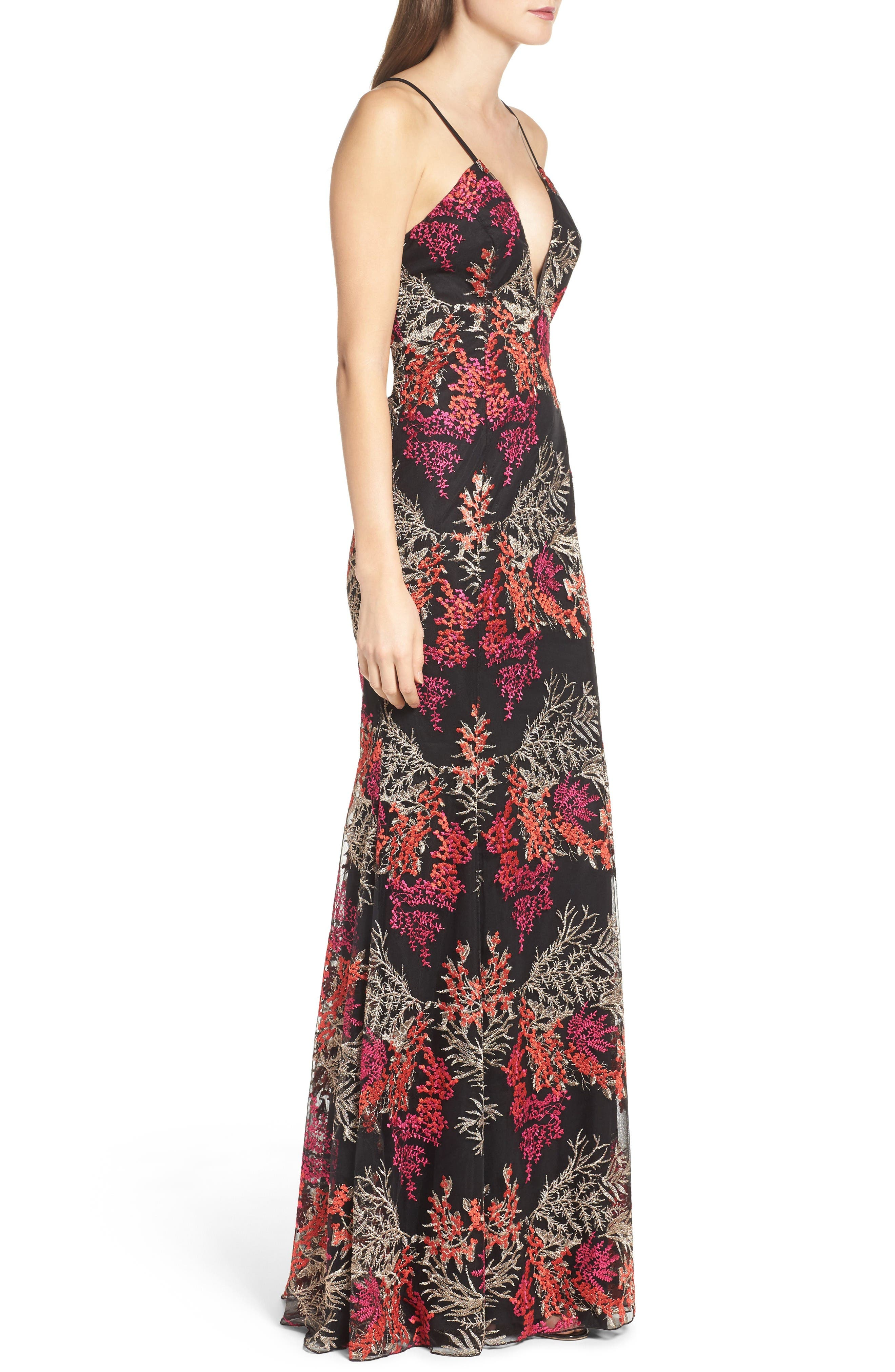 Alternate Image 3  - Jay Godfrey Henderson Embroidered Gown
