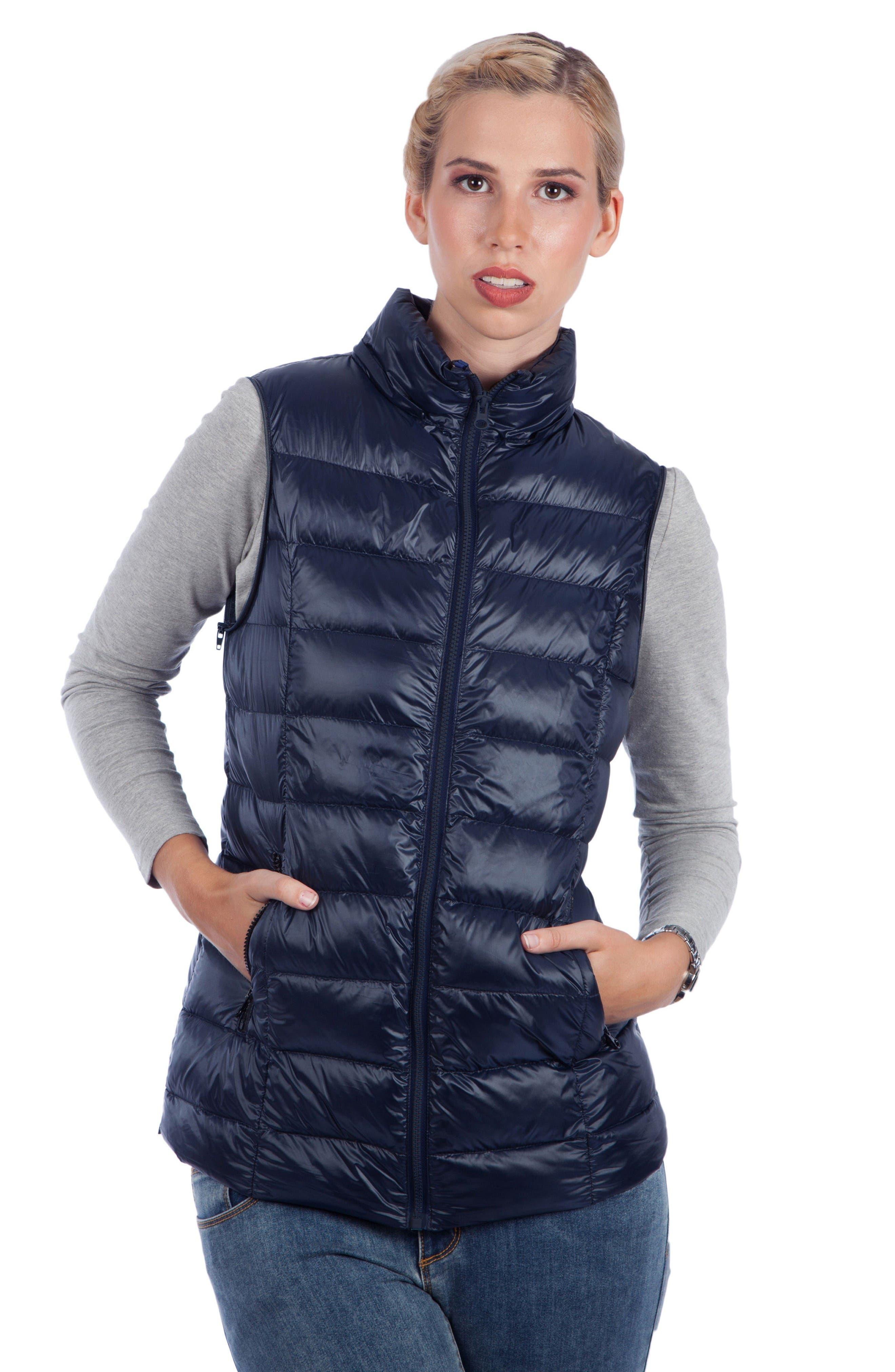 Alternate Image 3  - Modern Eternity Lightweight Puffer Convertible Maternity Jacket