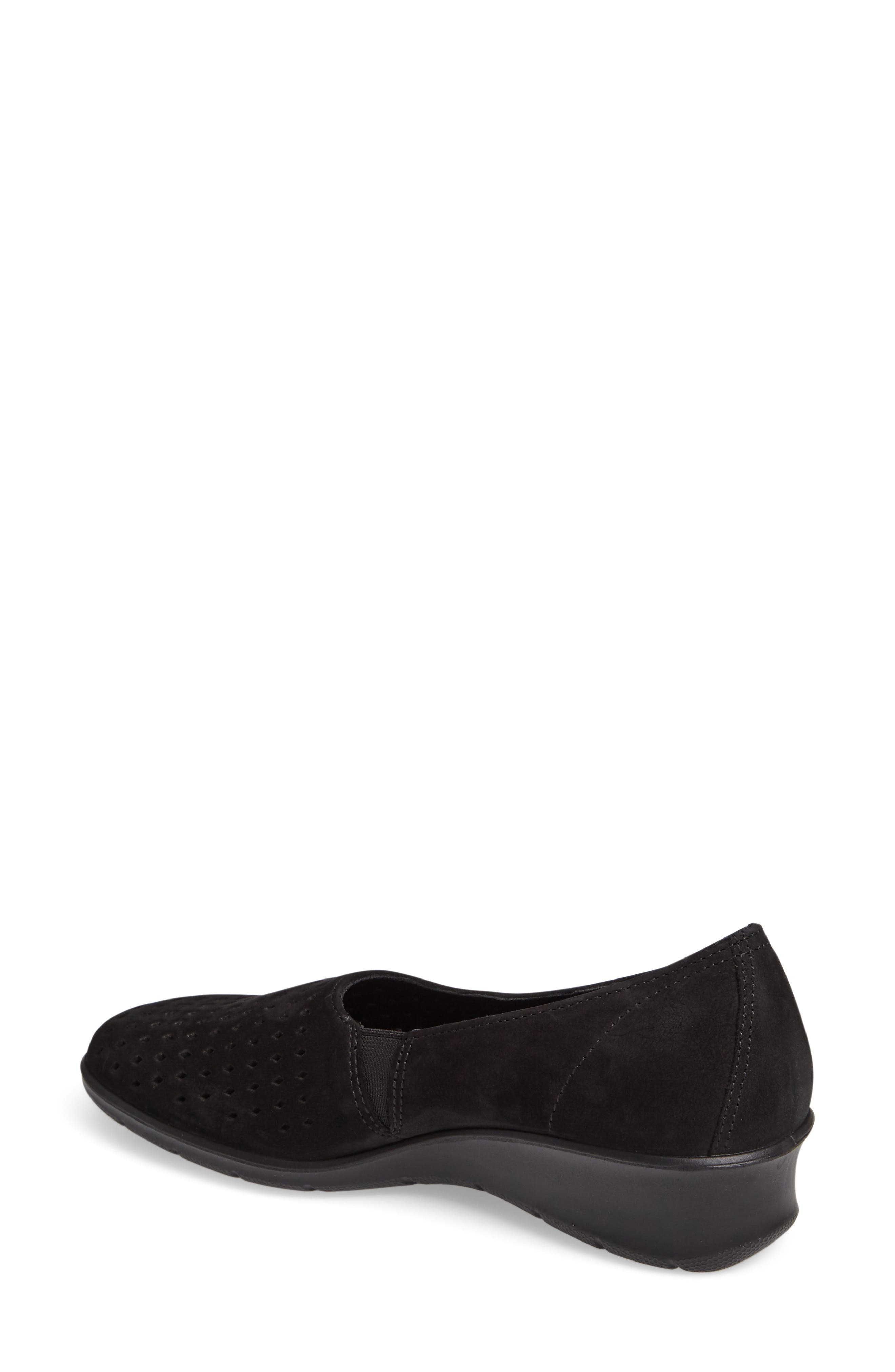 Felicia Summer Loafer,                             Alternate thumbnail 2, color,                             Black Leather