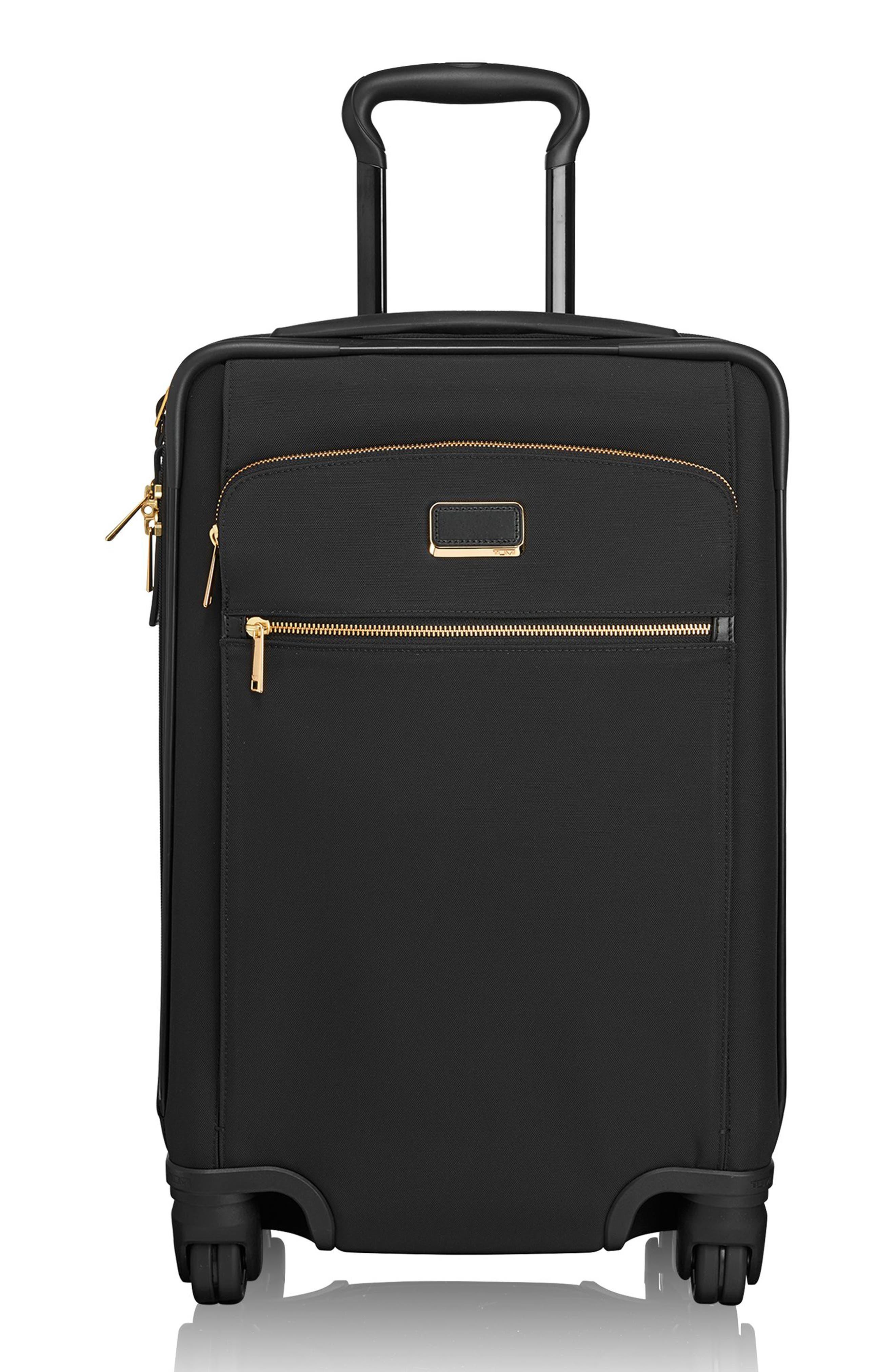 Sam International Expandable 22-Inch 4-Wheel Carry-On,                             Main thumbnail 1, color,                             Black