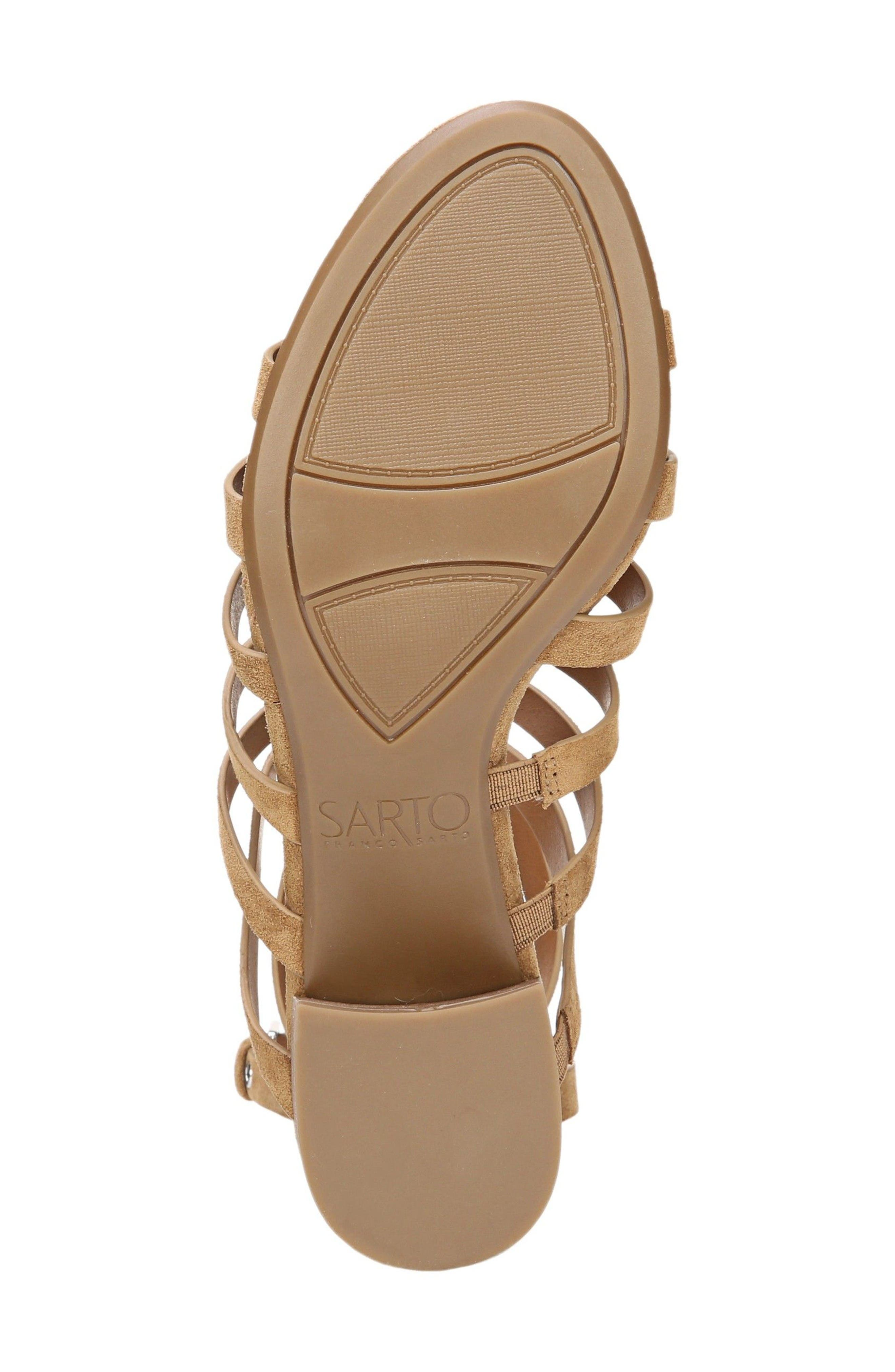 Alternate Image 4  - SARTO by Franco Sarto Finesse Cage Sandal (Women)