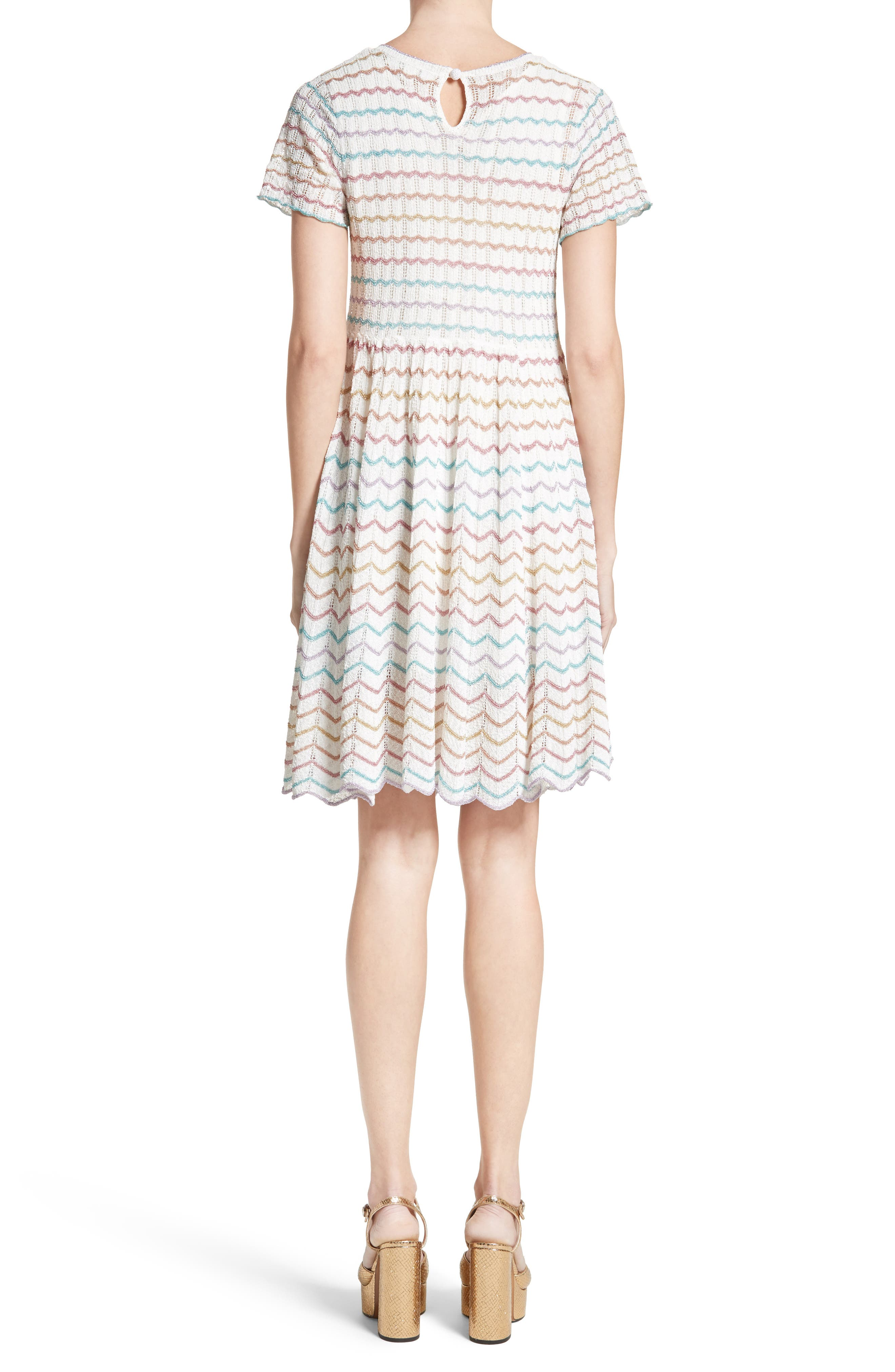 Alternate Image 2  - MARC JACOBS Knit Babydoll Dress
