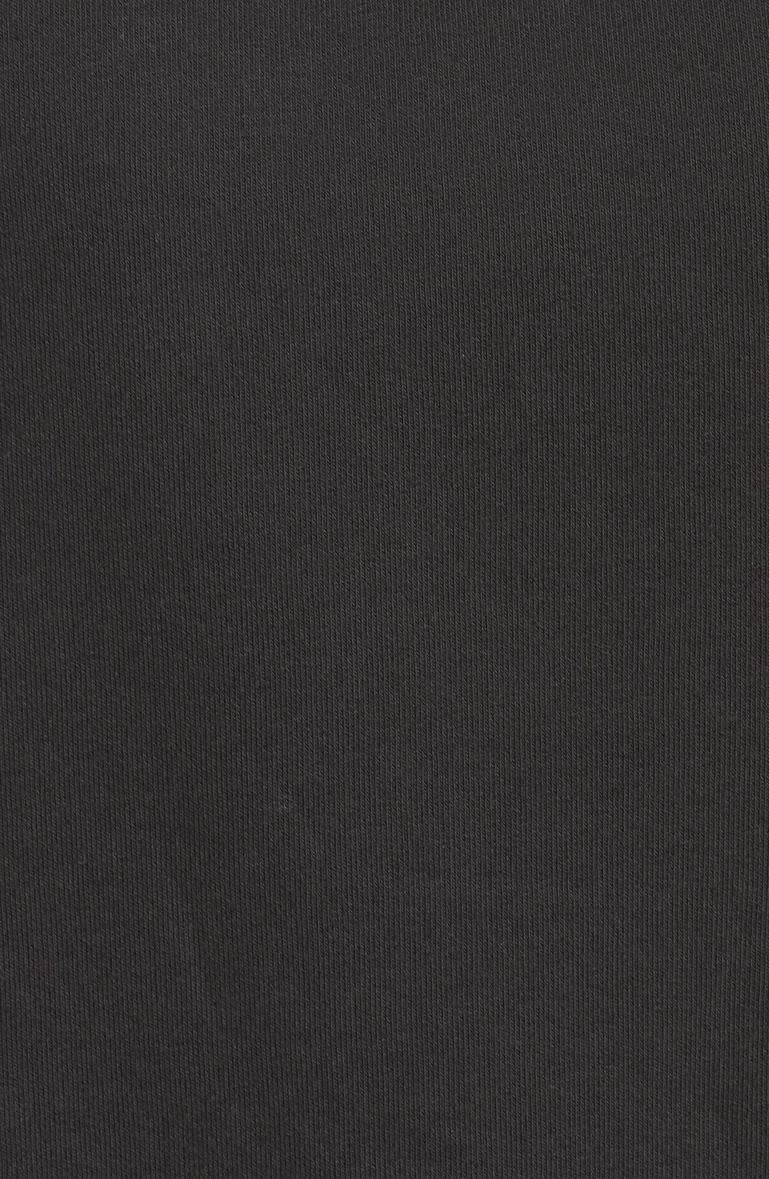 Lounge Sweatshirt,                             Alternate thumbnail 5, color,                             Black