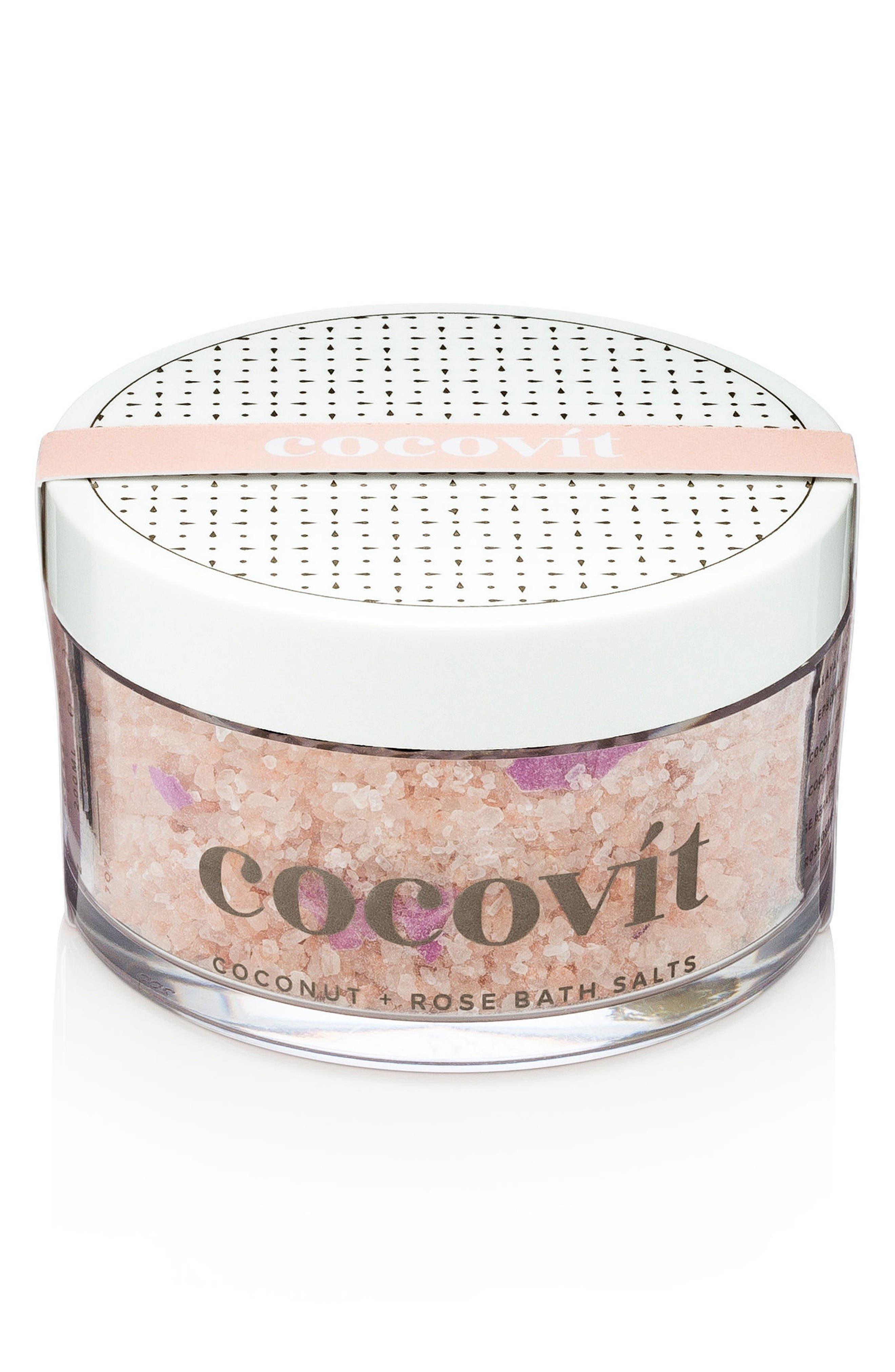 Coconut + Rose Bath Salts,                         Main,                         color, No Color