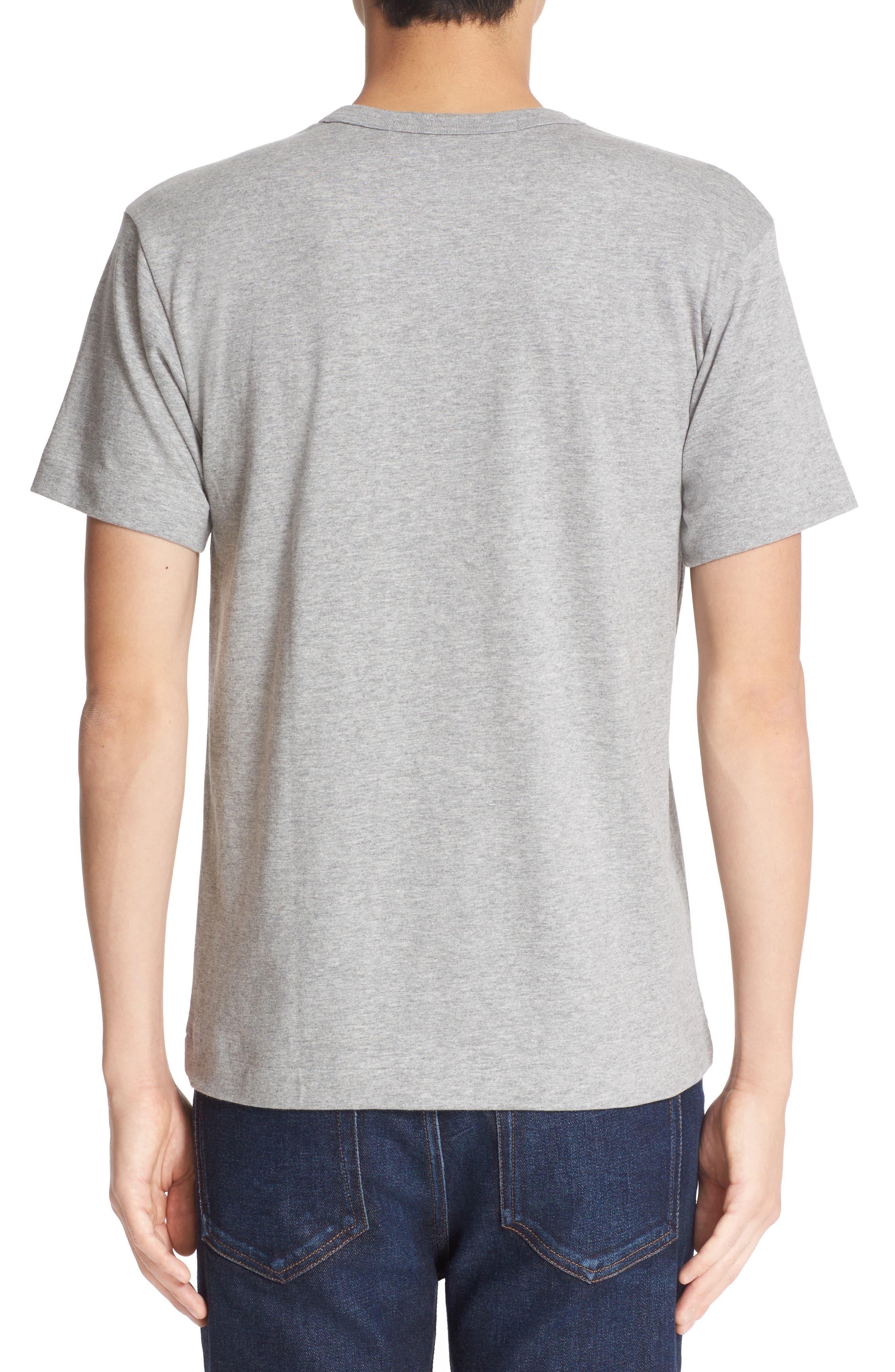 Alternate Image 2  - Comme des Garçons Stretch Face Heart T-Shirt