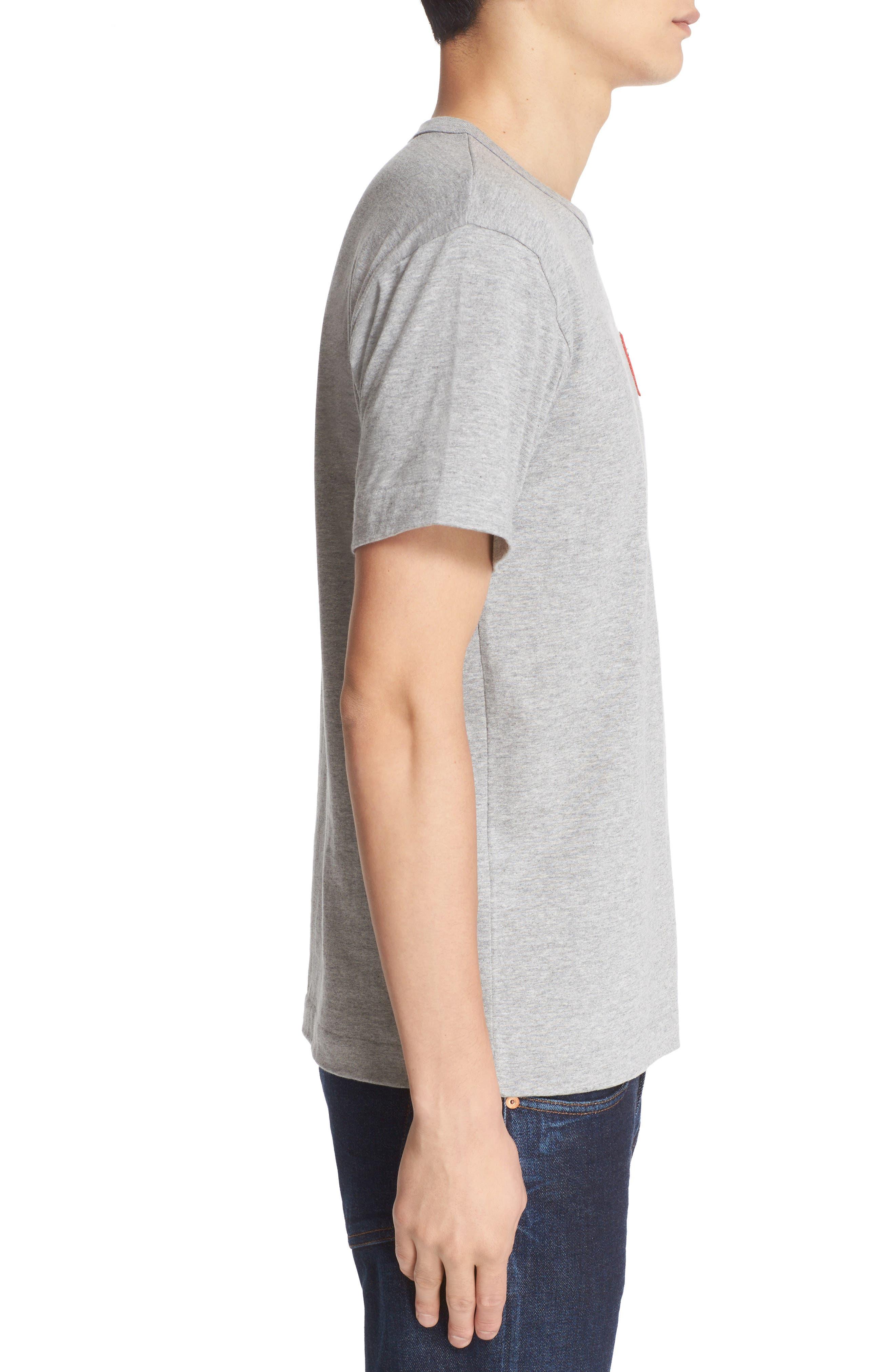 Alternate Image 3  - Comme des Garçons Stretch Face Heart T-Shirt
