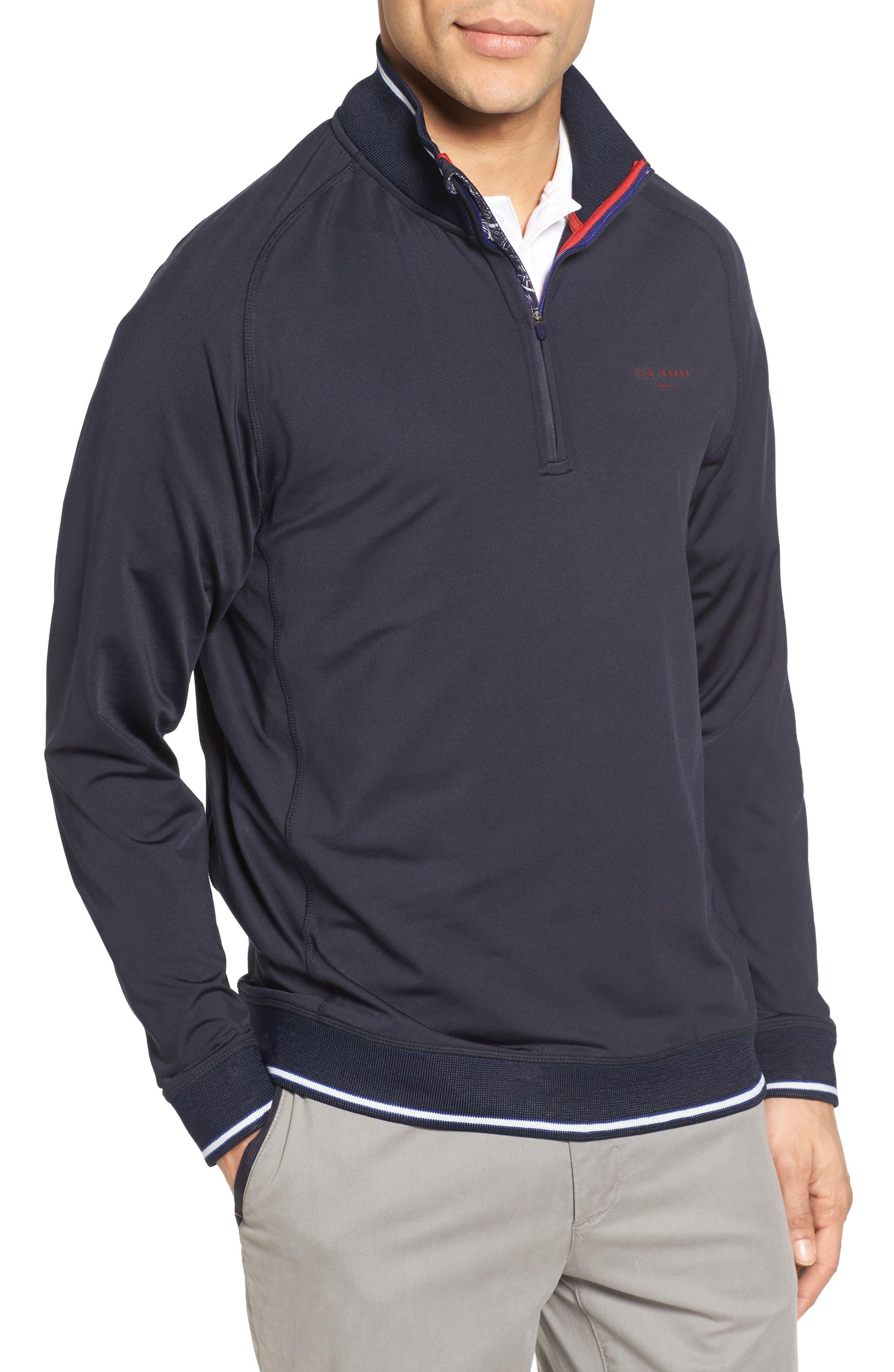 Ted Baker London Par Half Zip Golf Pullover
