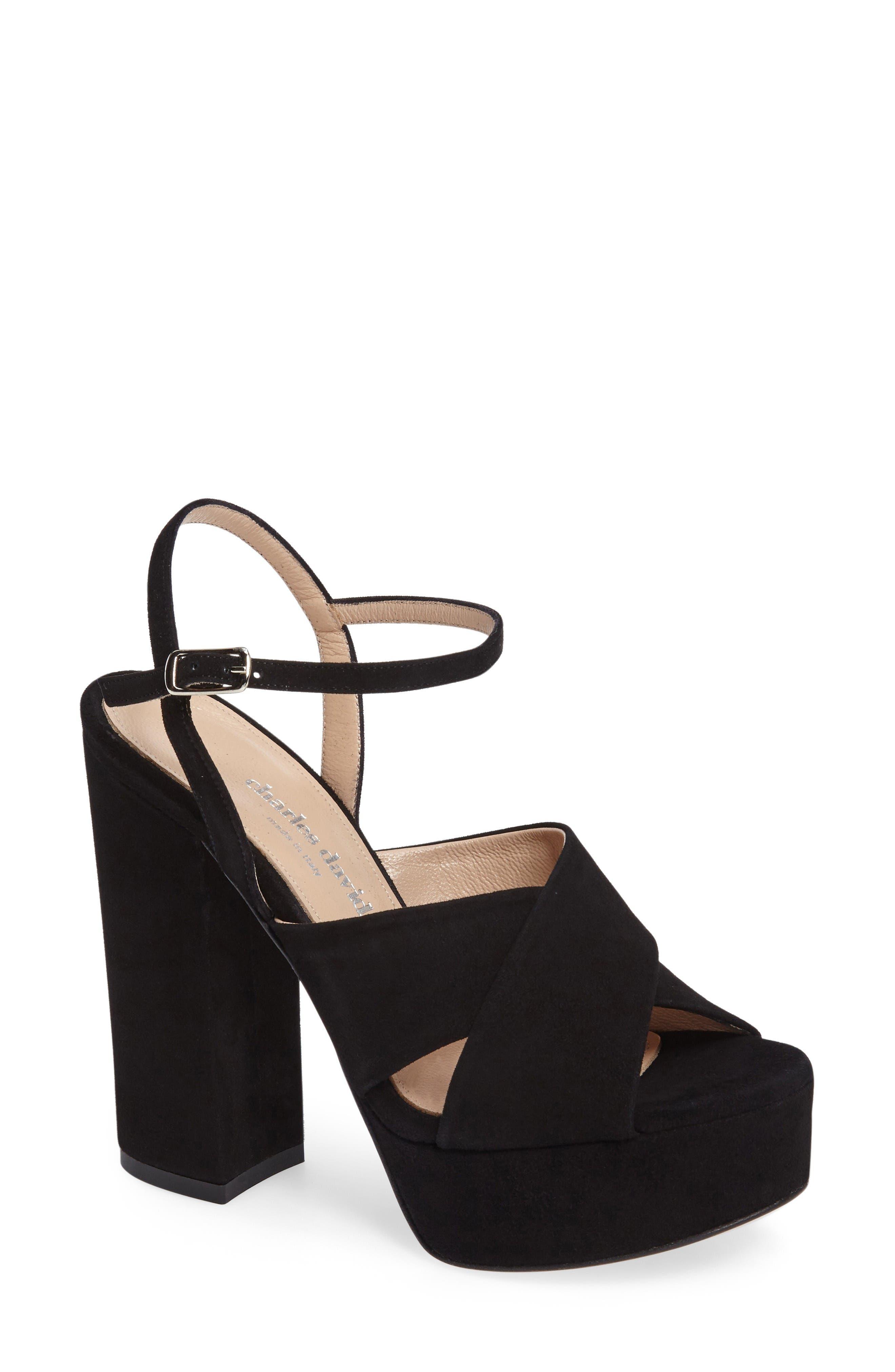 Charles David Rima Platform Sandal (Women)