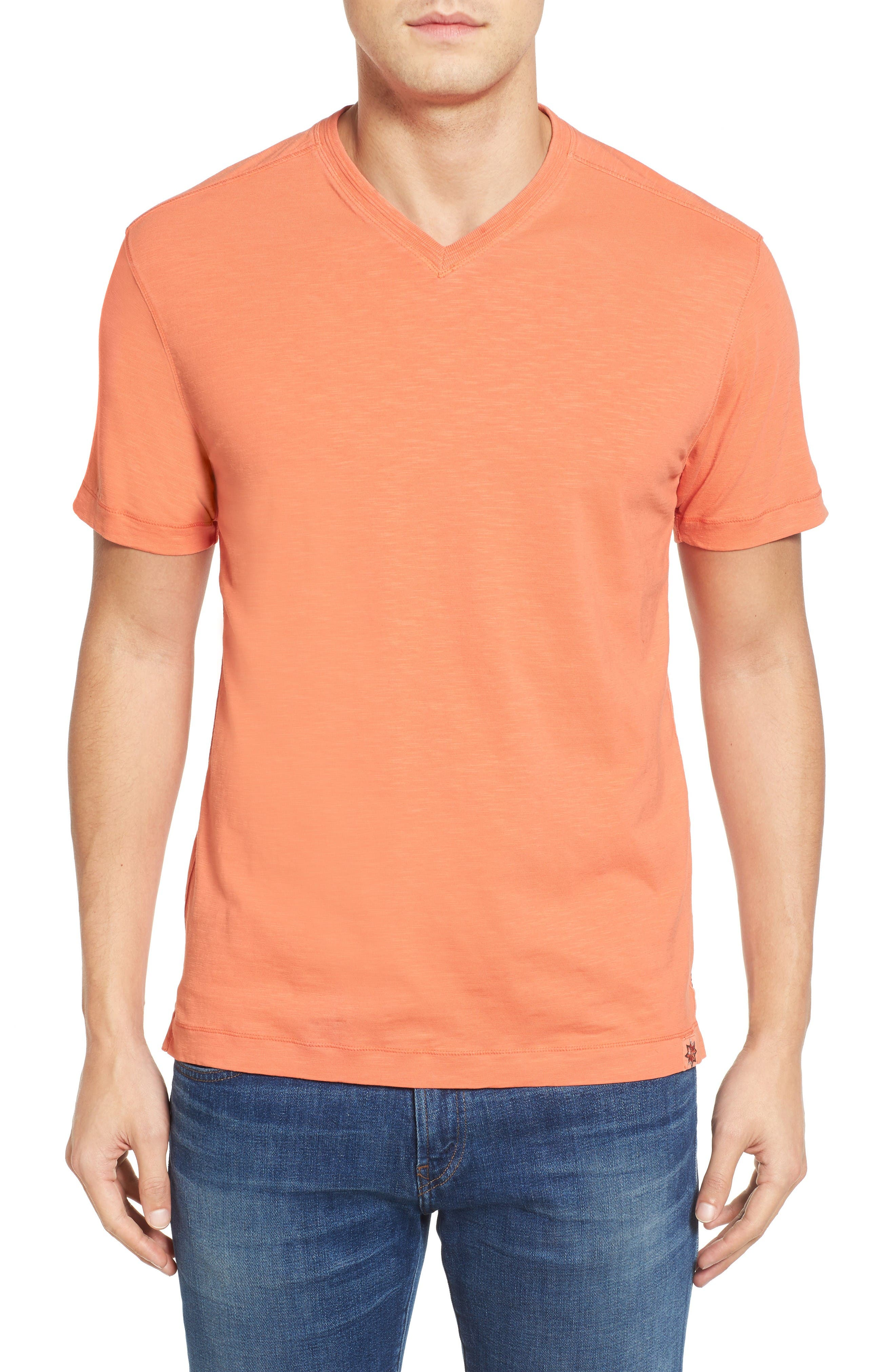 Virgil Stretch Jersey T-Shirt,                         Main,                         color, Dreamsicle
