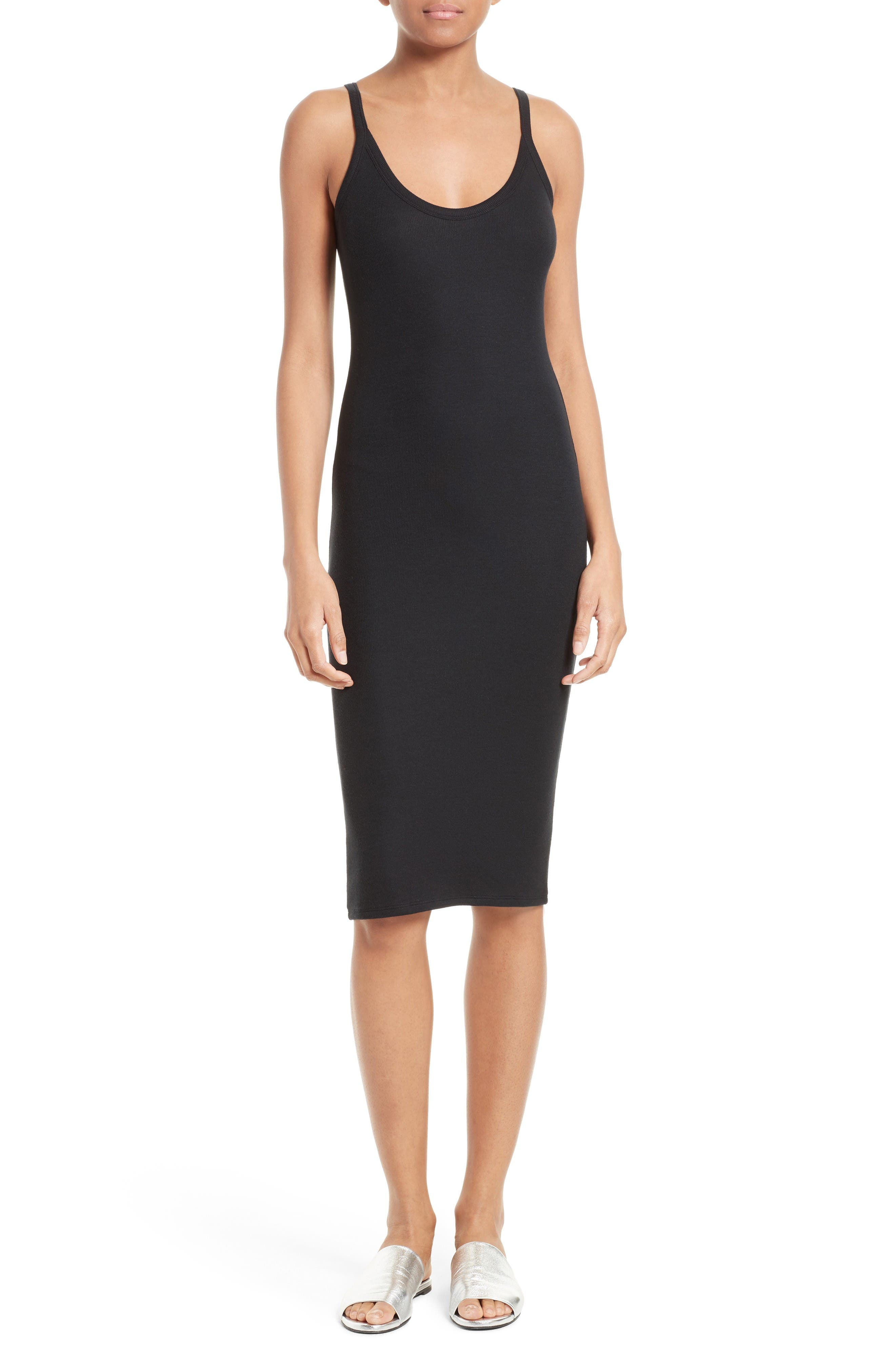 ATM Anthony Thomas Melillo Ribbed Tank Dress