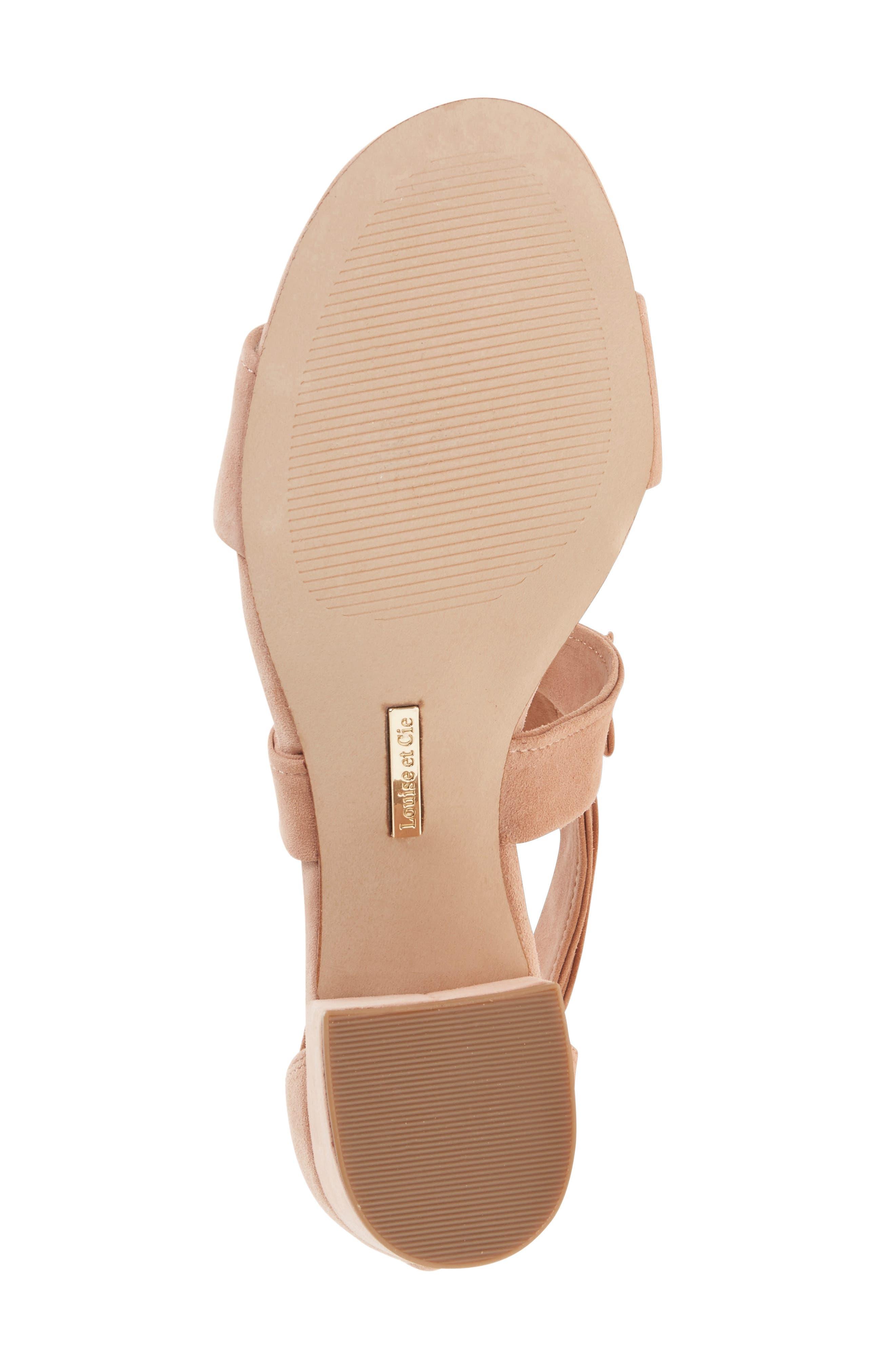 Alternate Image 4  - Louise et Cie Gia Block Heel Sandal (Women)