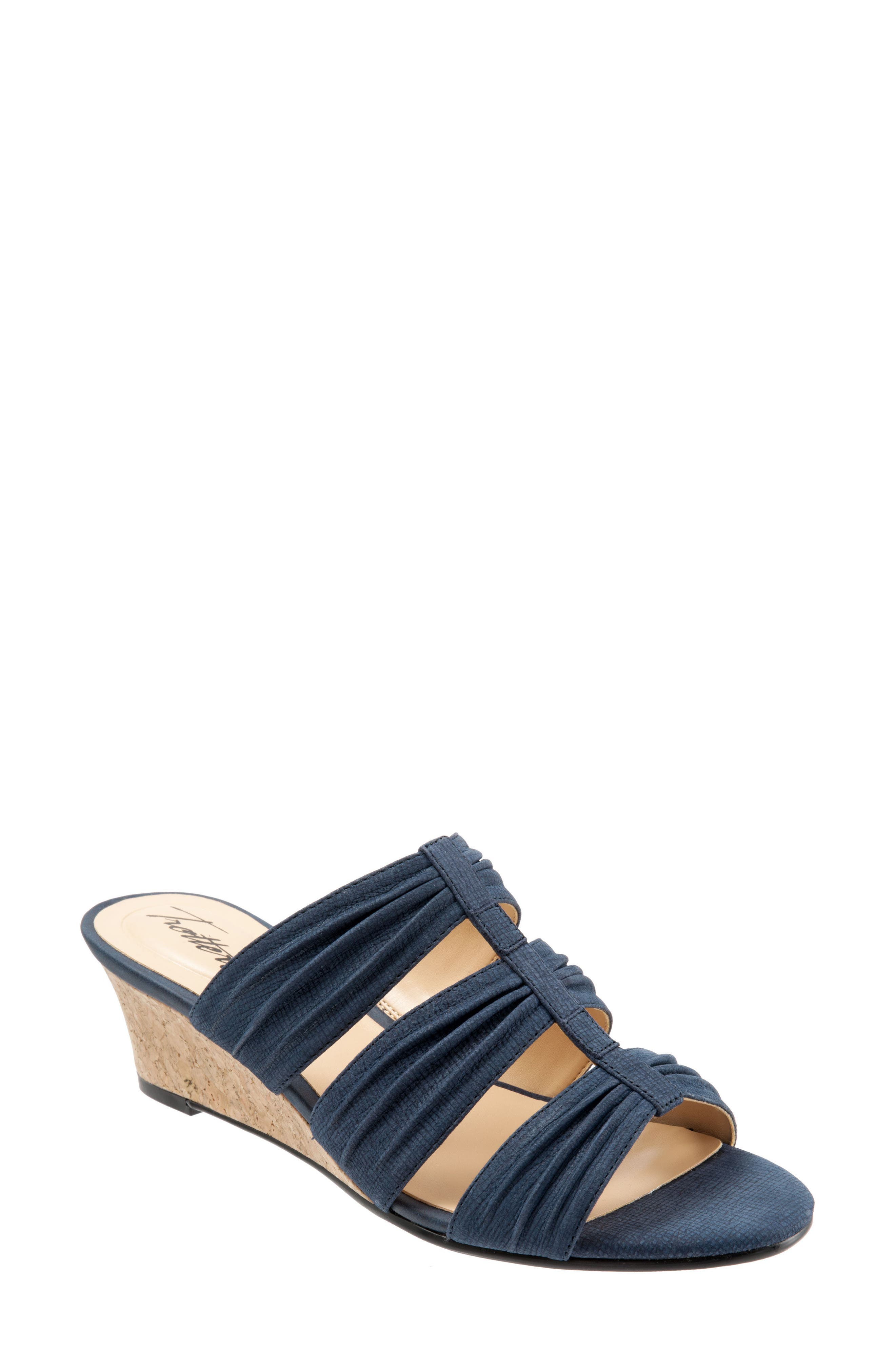 Alternate Image 1 Selected - Trotters Mia Wedge Sandal (Women)