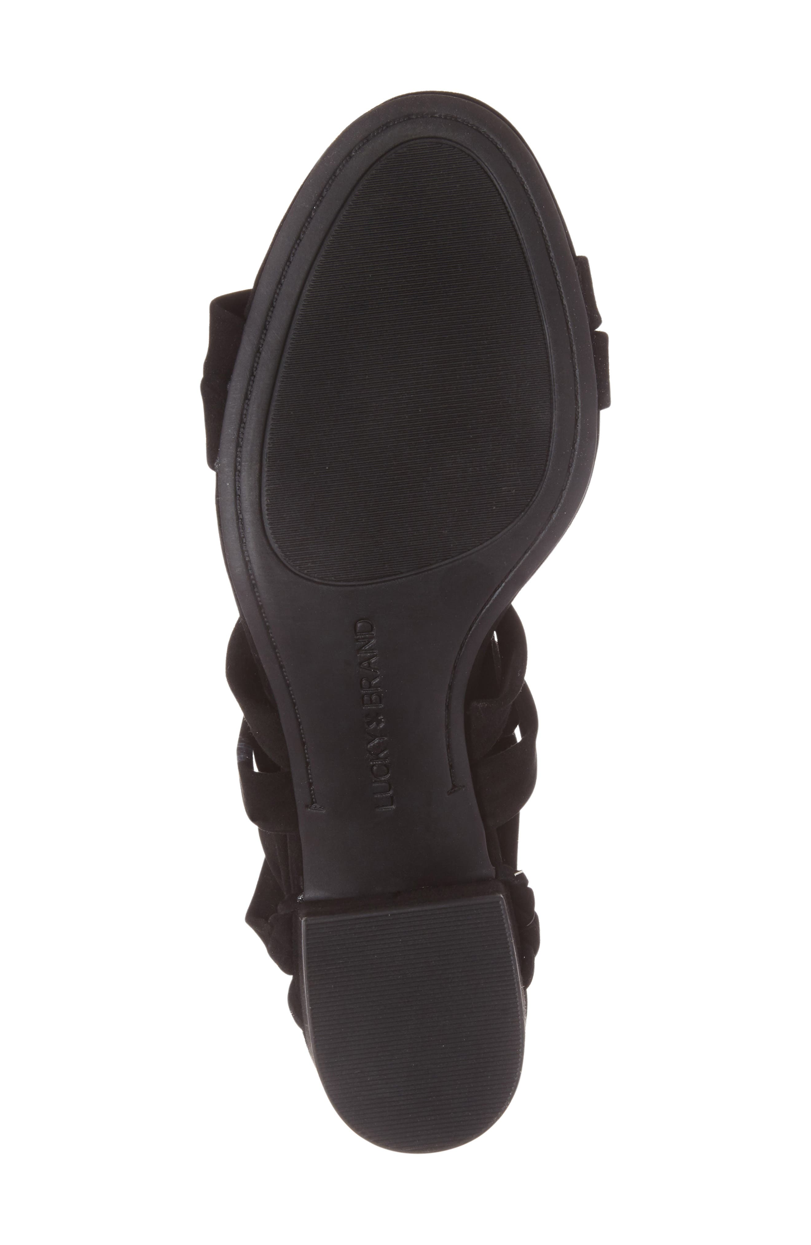 Alternate Image 4  - Lucky Brand Idalina Block Heel Sandal (Women)
