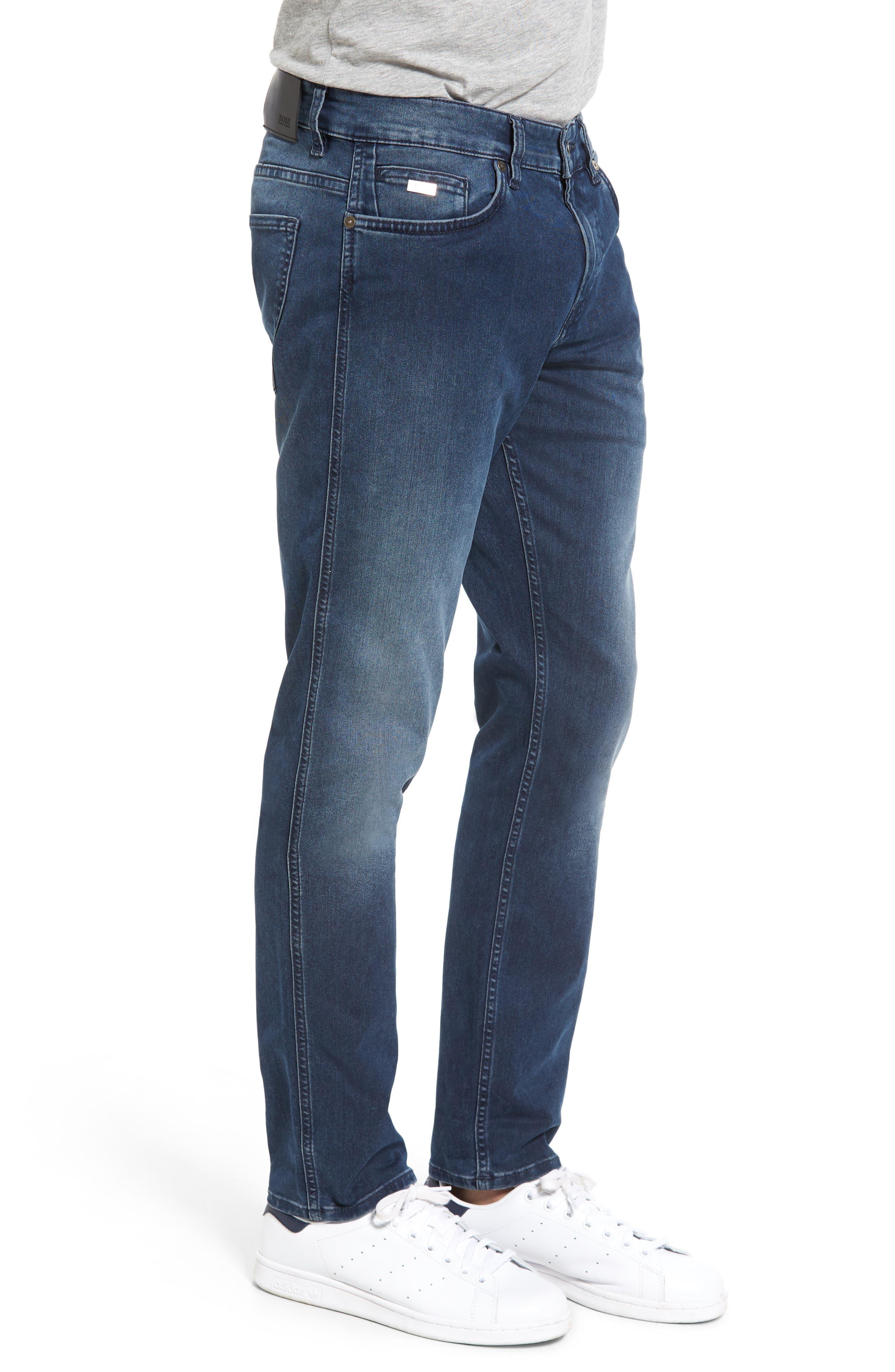 Alternate Image 3  - BOSS Delaware Slim Fit Jeans