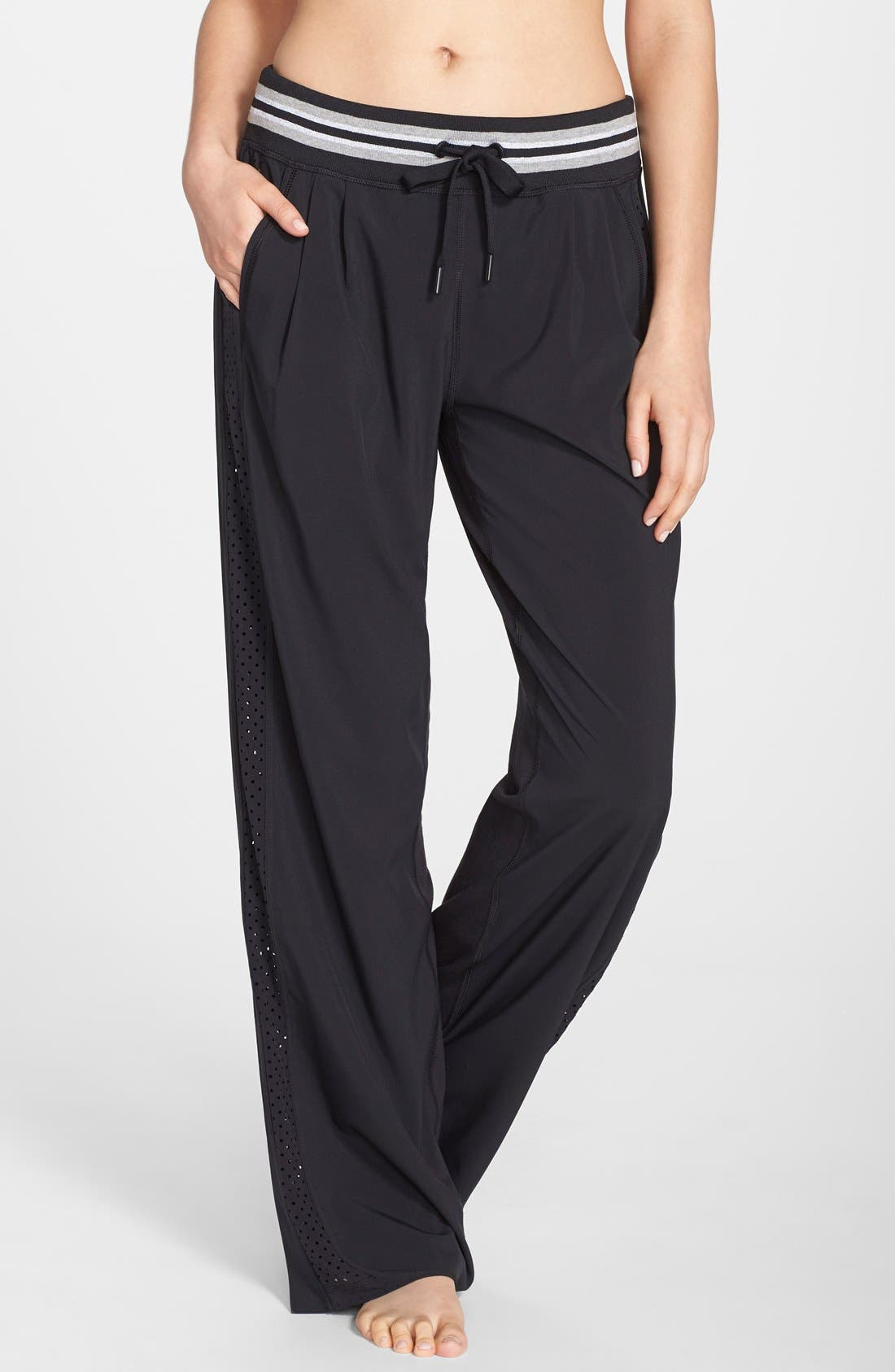 Alternate Image 1 Selected - Zella Side Zip Track Pants