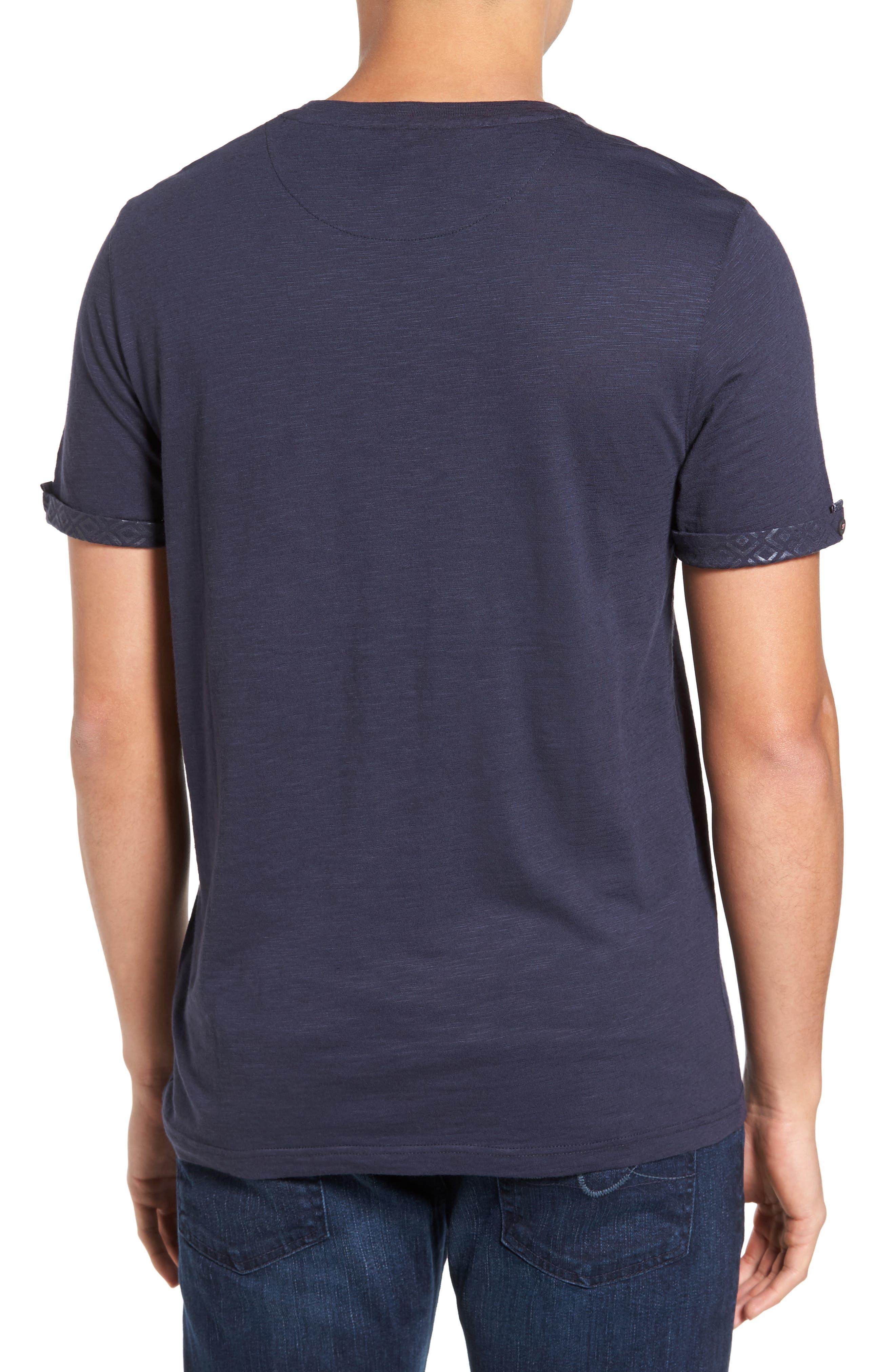 Alternate Image 2  - Ted Baker London Apel Print Pocket T-Shirt