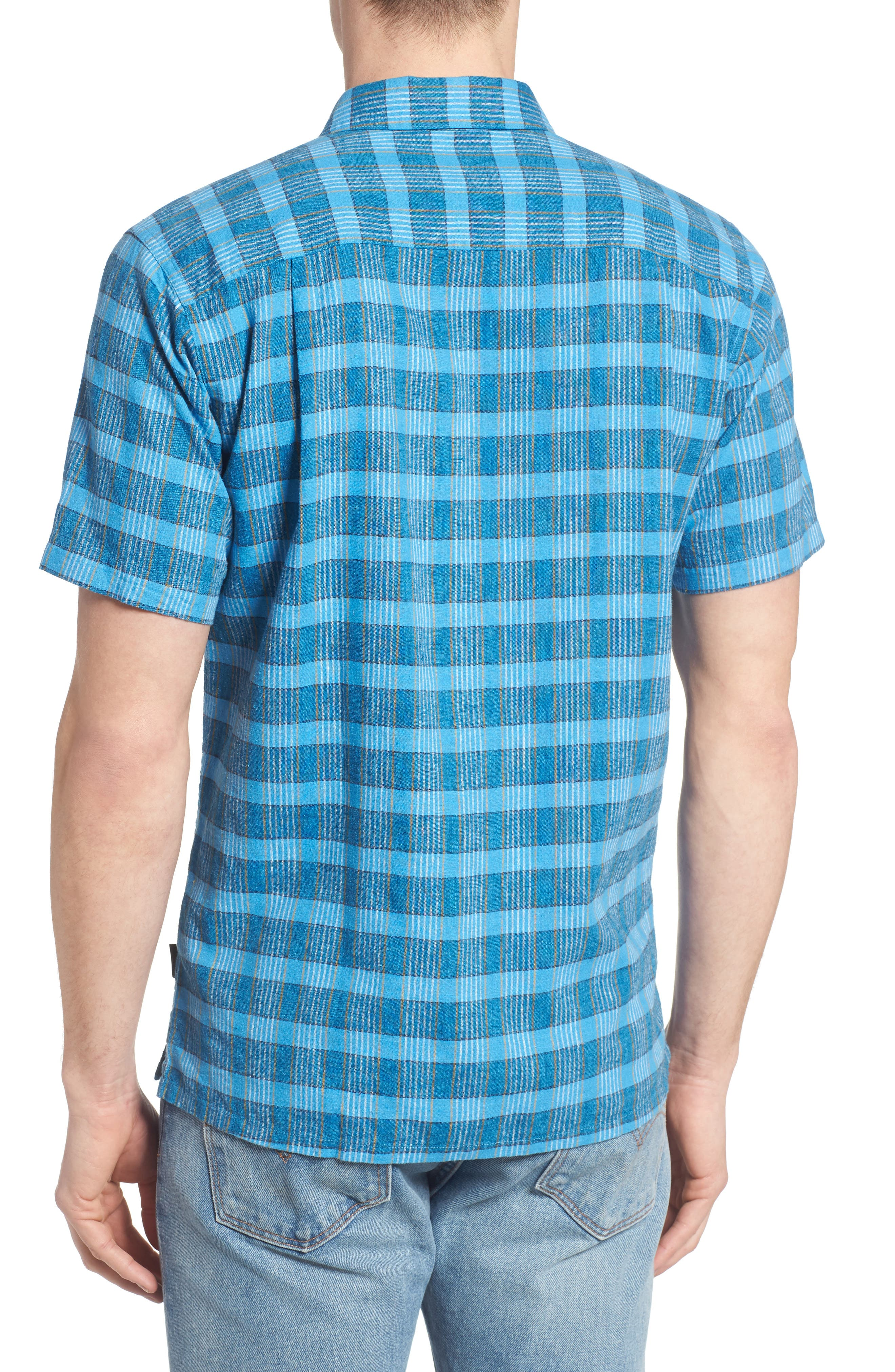 Alternate Image 2  - Patagonia 'Back Step' Regular Fit Check Short Sleeve Sport Shirt