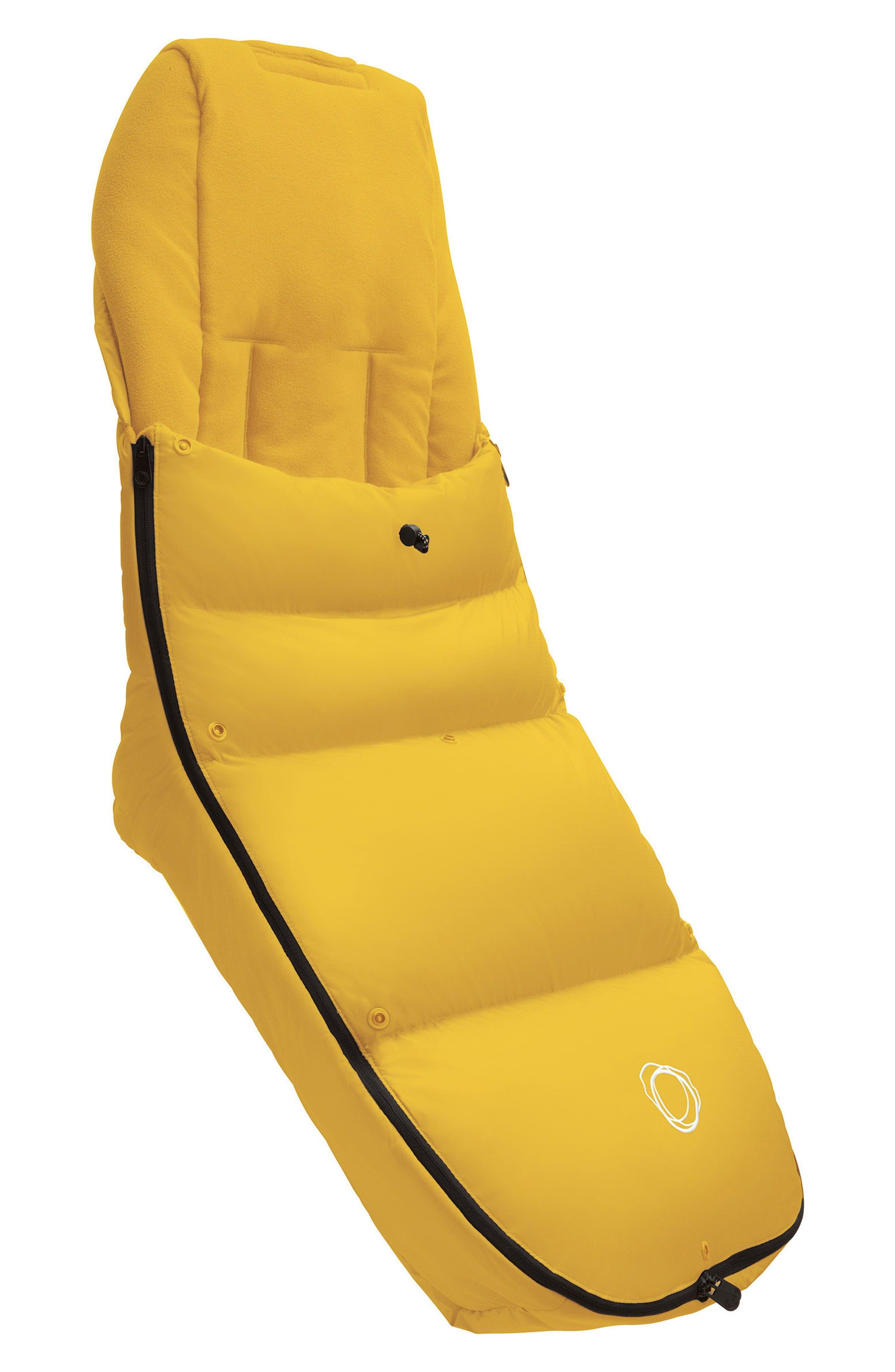 High Performance Footmuff,                         Main,                         color, Sunrise Yellow
