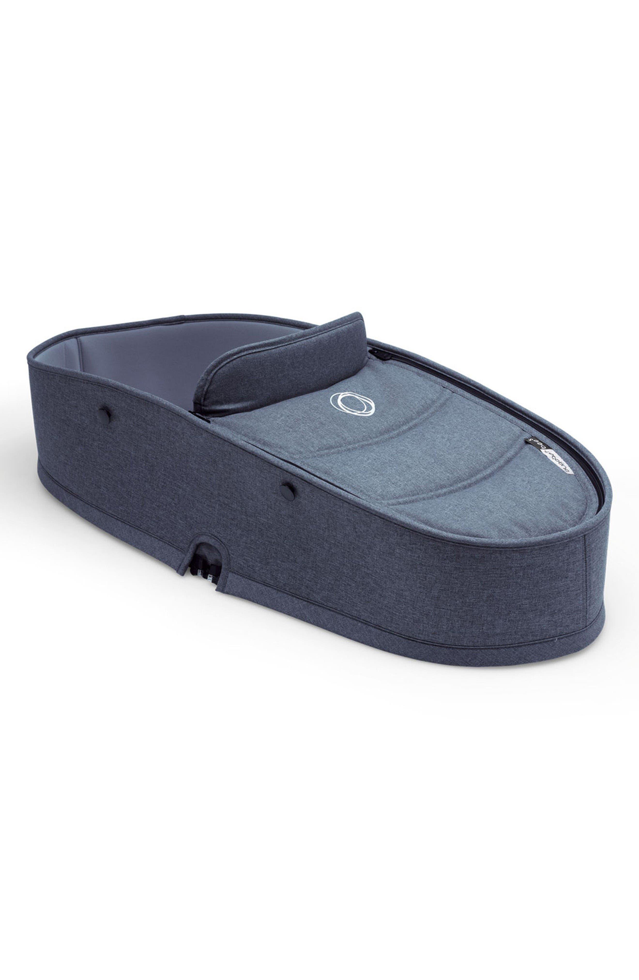 Bee5 Stroller Bassinet Tailored Fabric Set,                         Main,                         color, Blue Melange