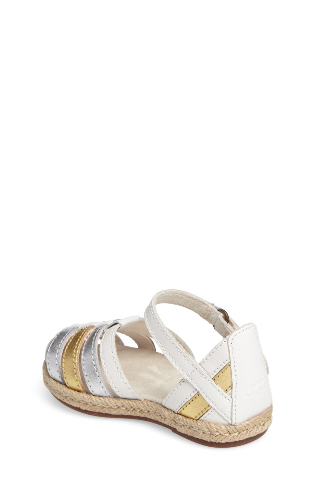 Alternate Image 2  - UGG® Matilde Espadrille Sandal (Walker & Toddler)