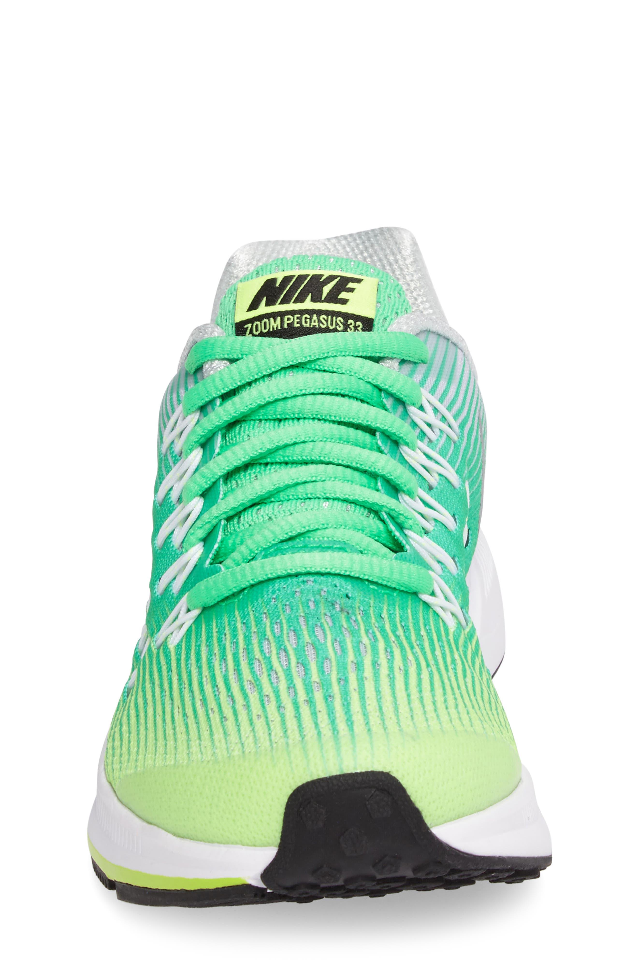 Alternate Image 4  - Nike 'Zoom Pegasus 33' Sneaker (Little Kid & Big Kid)